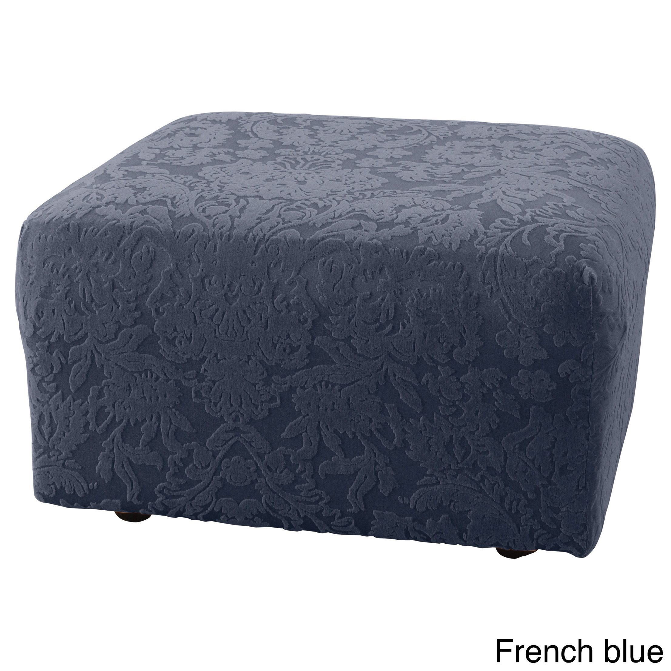 chair set pattern ottoman unique cube slipcovers remodel couch furniture design ikea best surefit ottomans with sleeper cover about for interior beautiful slipcover and on covers