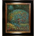 Gustav Klimt 'Apple Tree I' Hand Painted Framed Canvas Art