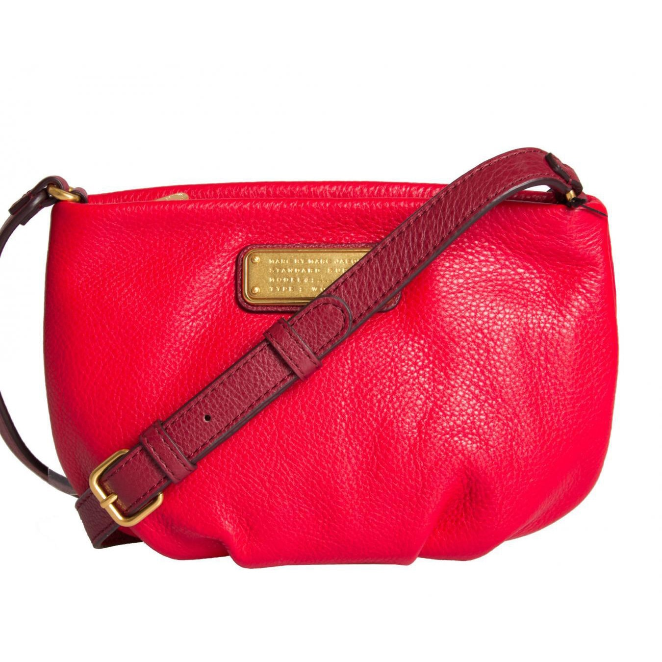 5ad853930677 Shop Marc By Marc Jacobs New Q Percy Rosey Red Multi Crossbody Handbag - On  Sale - Free Shipping Today - Overstock - 10297603