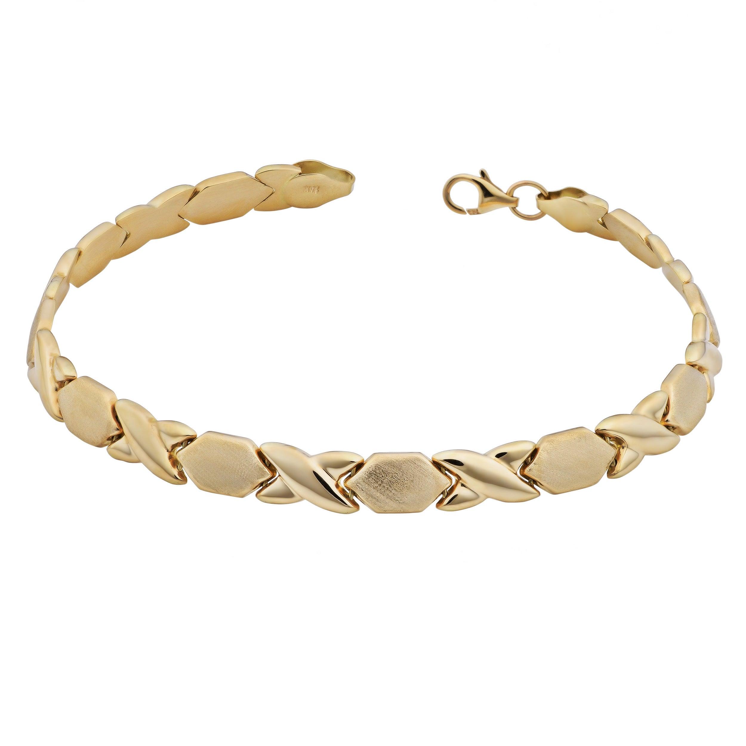 bracelet miami rc inches gold products chain id yellow mens cuban curb