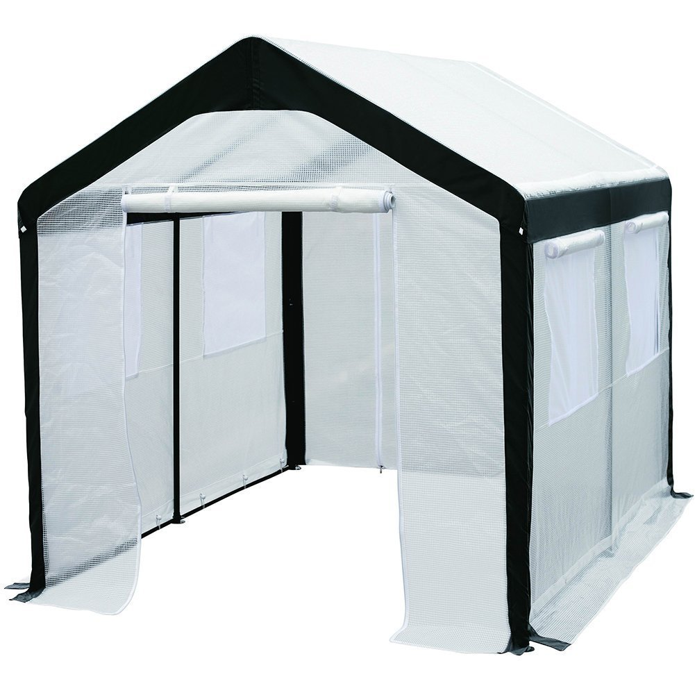 Shop Abba Patio Large Walk-in Fully Enclosed Lawn and Garden ...