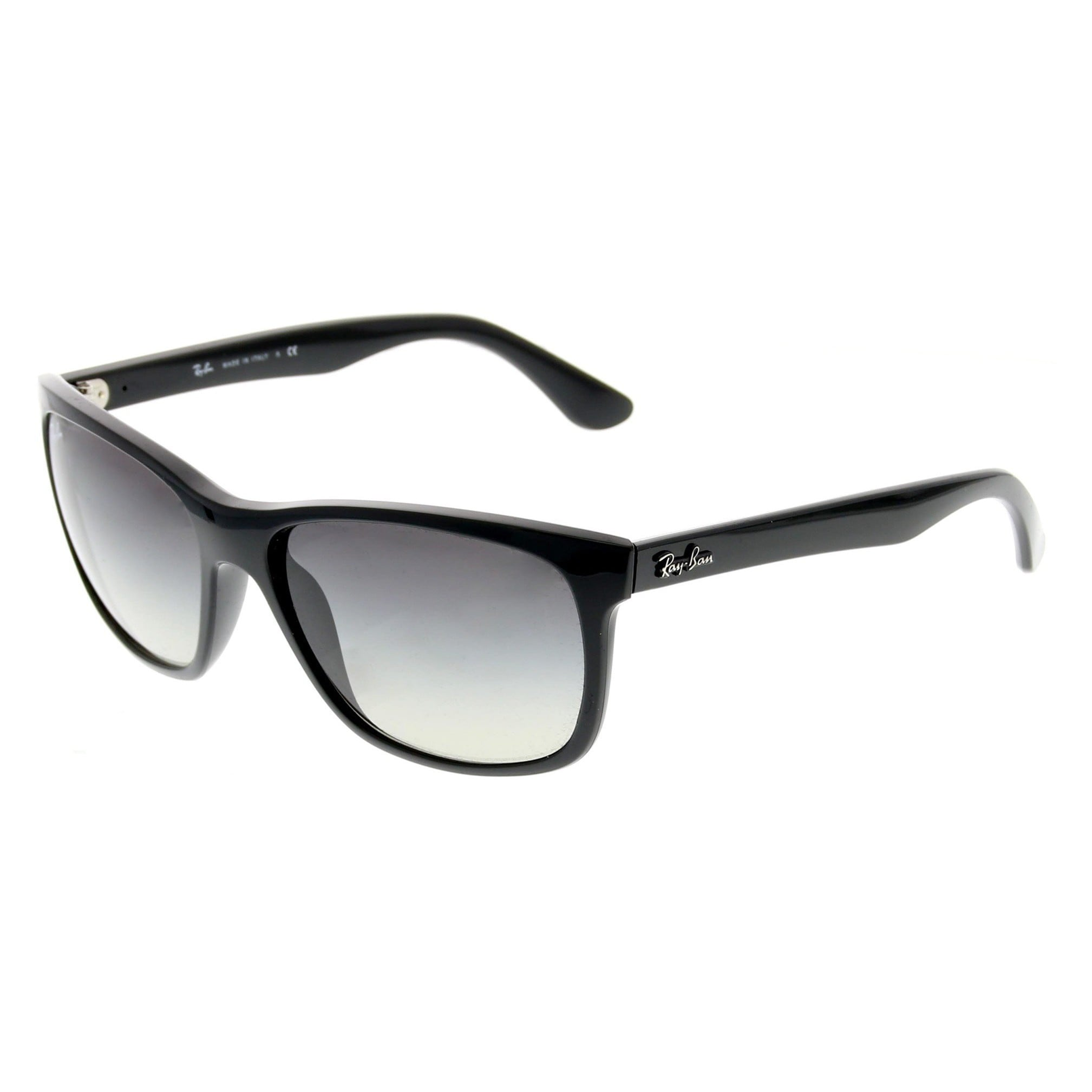 2b7c1bc7ac Shop Ray-Ban RB4181 Gray Gradient Lenses Black Sunglasses - On Sale - Free  Shipping Today - Overstock.com - 10302913