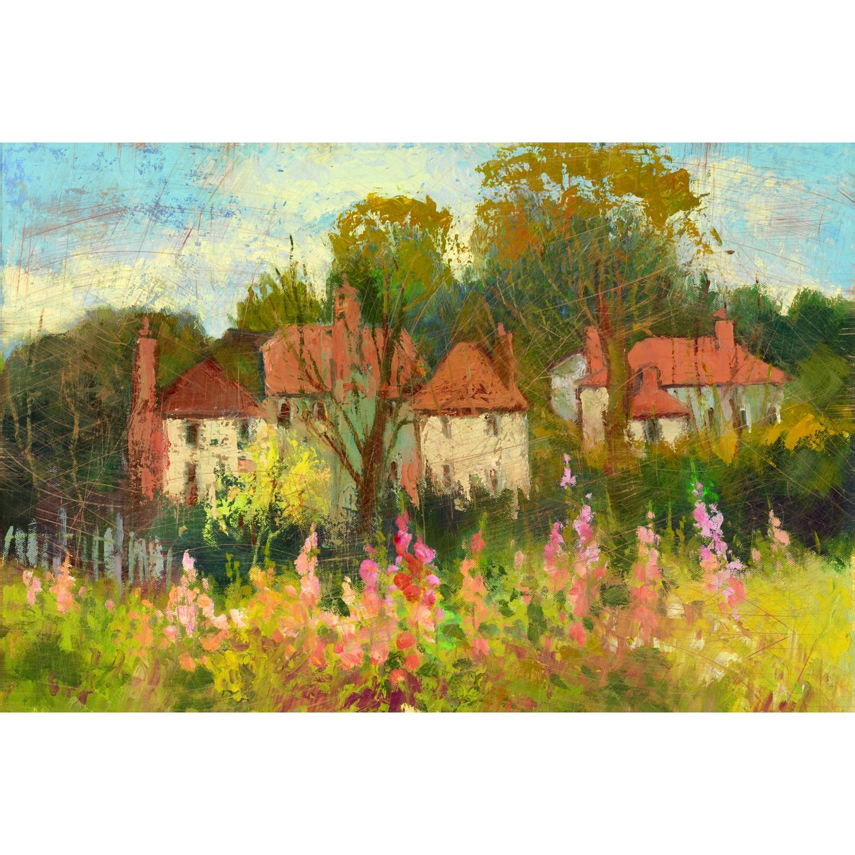 Shop Portfolio Canvas Decor Dawna Barton \'Landscape 3\' Framed Canvas ...
