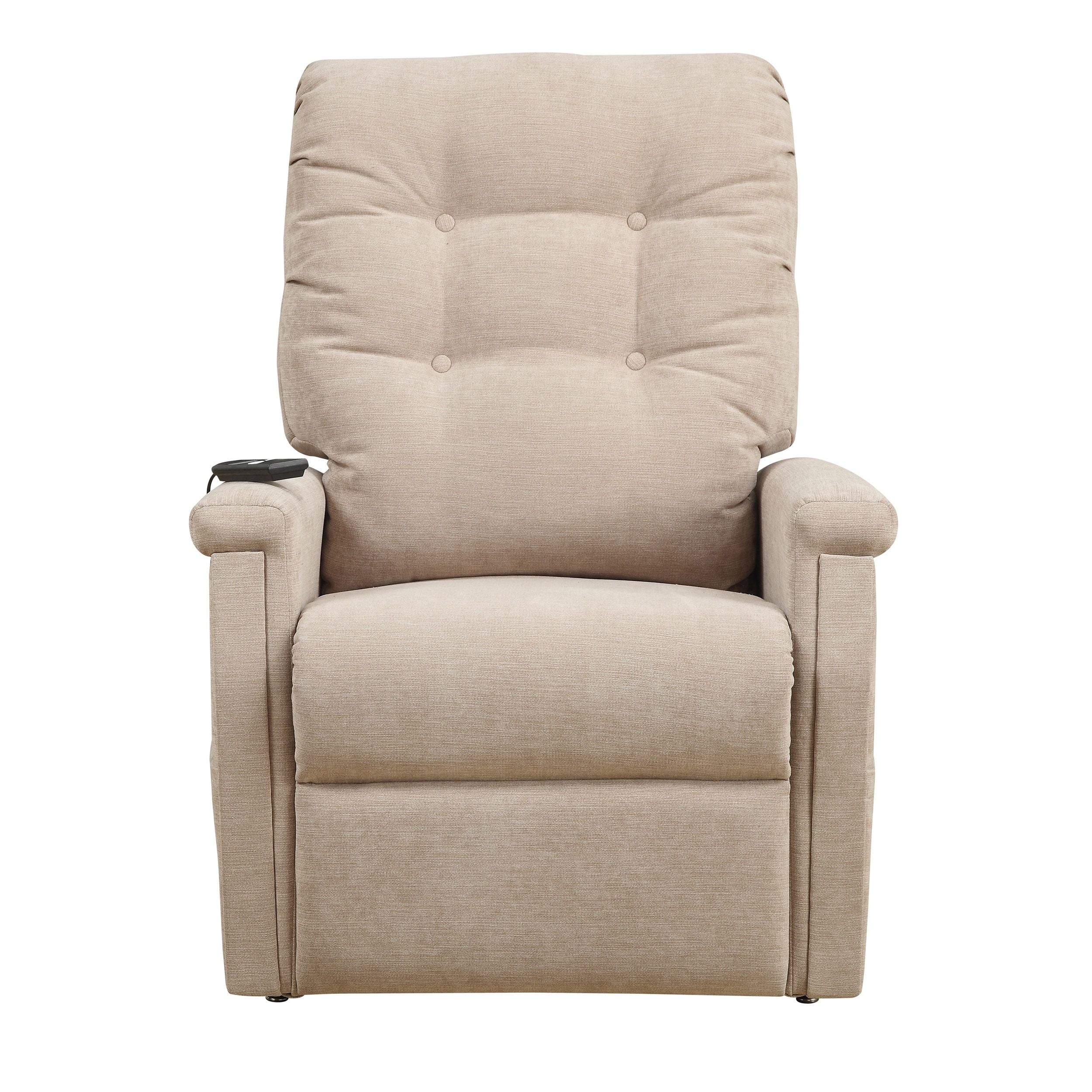 Shop Morton Beige Fabric Power Lift Chair Recliner   On Sale   Free  Shipping Today   Overstock.com   10303521
