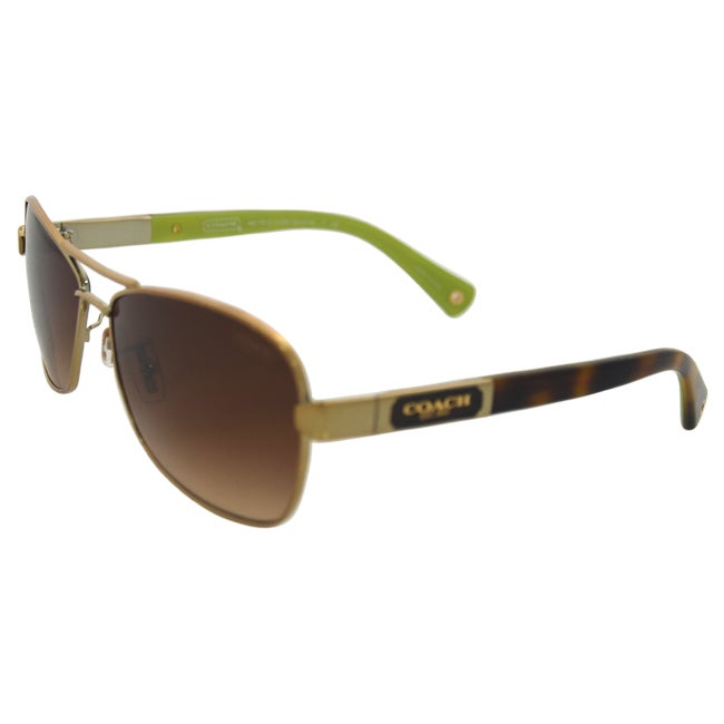 e0a820f53afcc Shop Coach HC7012 Caroline Polarized Sunglasses 56mm - Free Shipping Today  - Overstock - 10305161