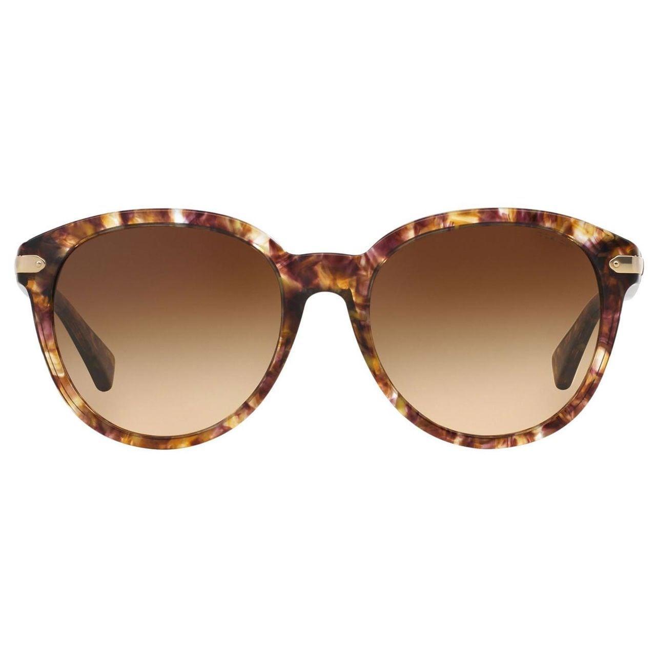 9eaf4dff85 Shop Coach Women s HC8140 L111 528713 Plastic Phantos Sunglasses - Brown -  Free Shipping Today - Overstock.com - 10305220