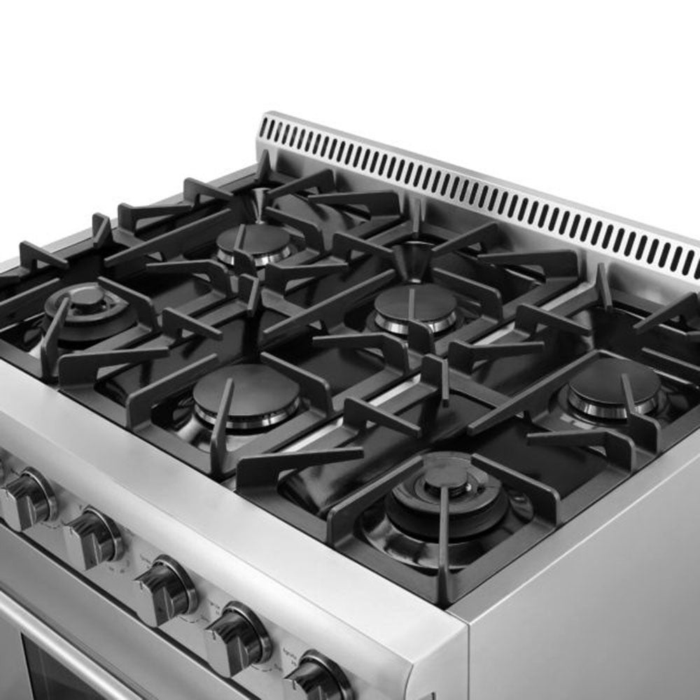 Thor Kitchen HRG3618U 36-inch 6-burner Professional Style Gas ...
