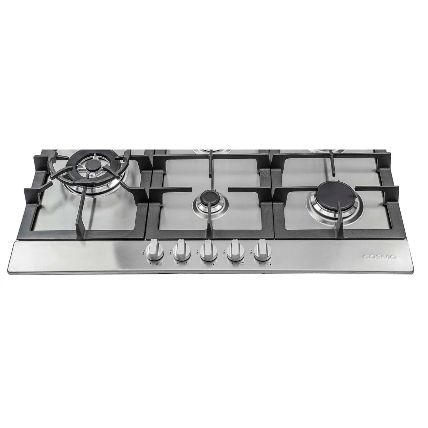 Cosmo 30-inch Stainless Steel Gas Cooktop (850sltx-e) - Free ...