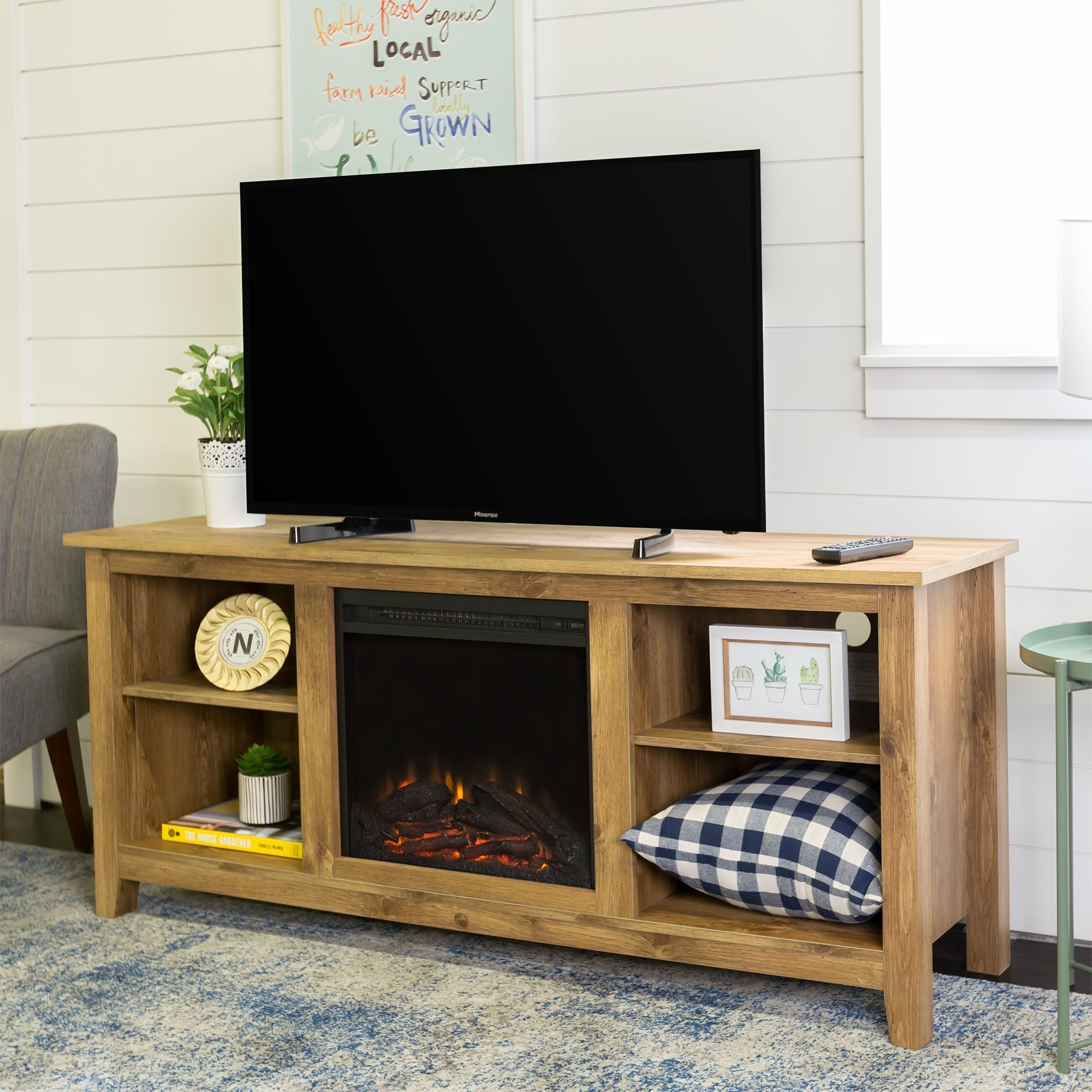 wood barn rustic room inch willey barnwood fireplace corner tv stand rcwilley rc view living stands jsp with furniture store
