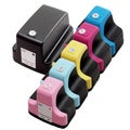6 Pack HP 02 (1 Black, 1 Cyan, 1 Magenta, 1 Yellow, 1 Light Cyan, 1 Light Magenta ) Ink Cartridge (Pack of 6)