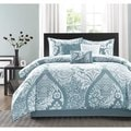 Madison Park Franchesca 7-Piece Cotton Printed Comforter Set