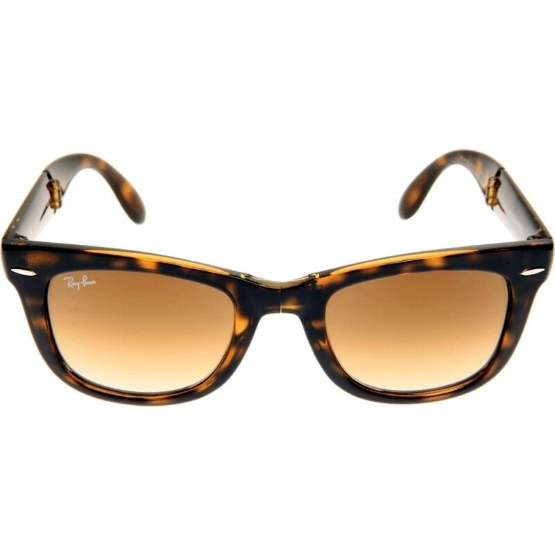 d45f0c9218c Shop Ray-Ban RB4105 710 Tortoise 50 Brown Classic Lens Folding Wayfarer  Sunglasses - Free Shipping Today - Overstock.com - 10314353