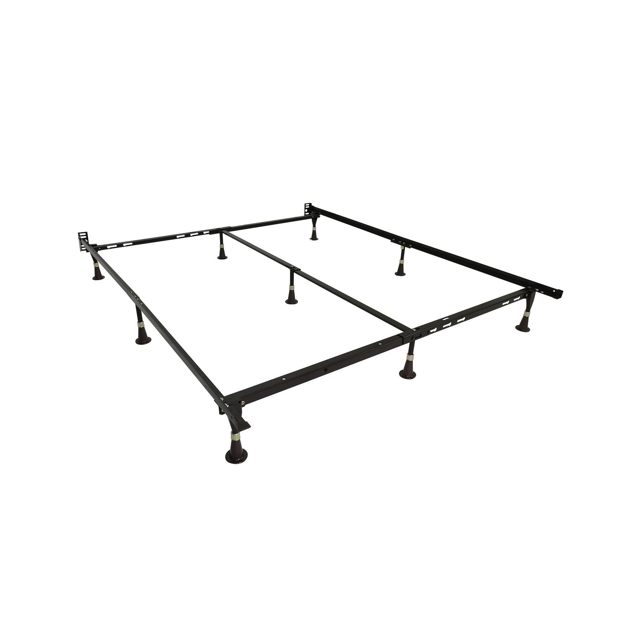Shop DHP Signatutre Sleep Brown Metal Queen/King Adjustable Bed ...
