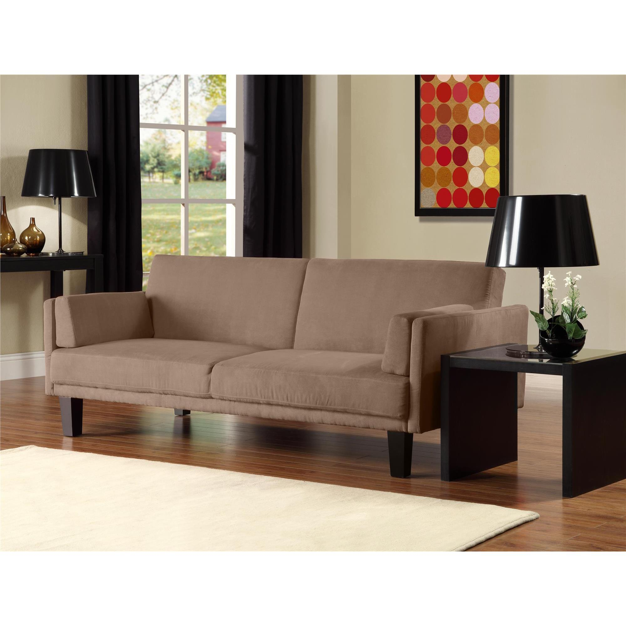 Shop Dhp Metro Futon Sofa Bed Free Shipping Today Overstock Com