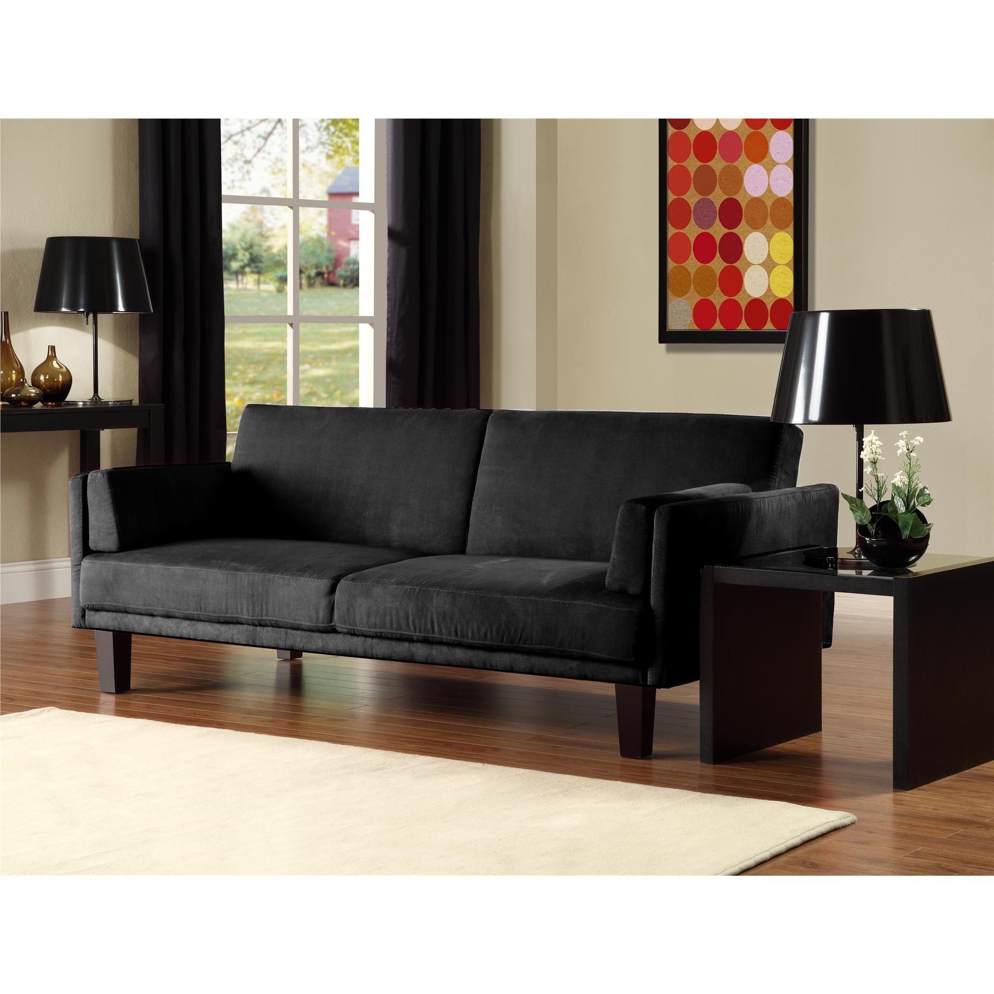 dhp metro futon sofa bed - free shipping today - overstock