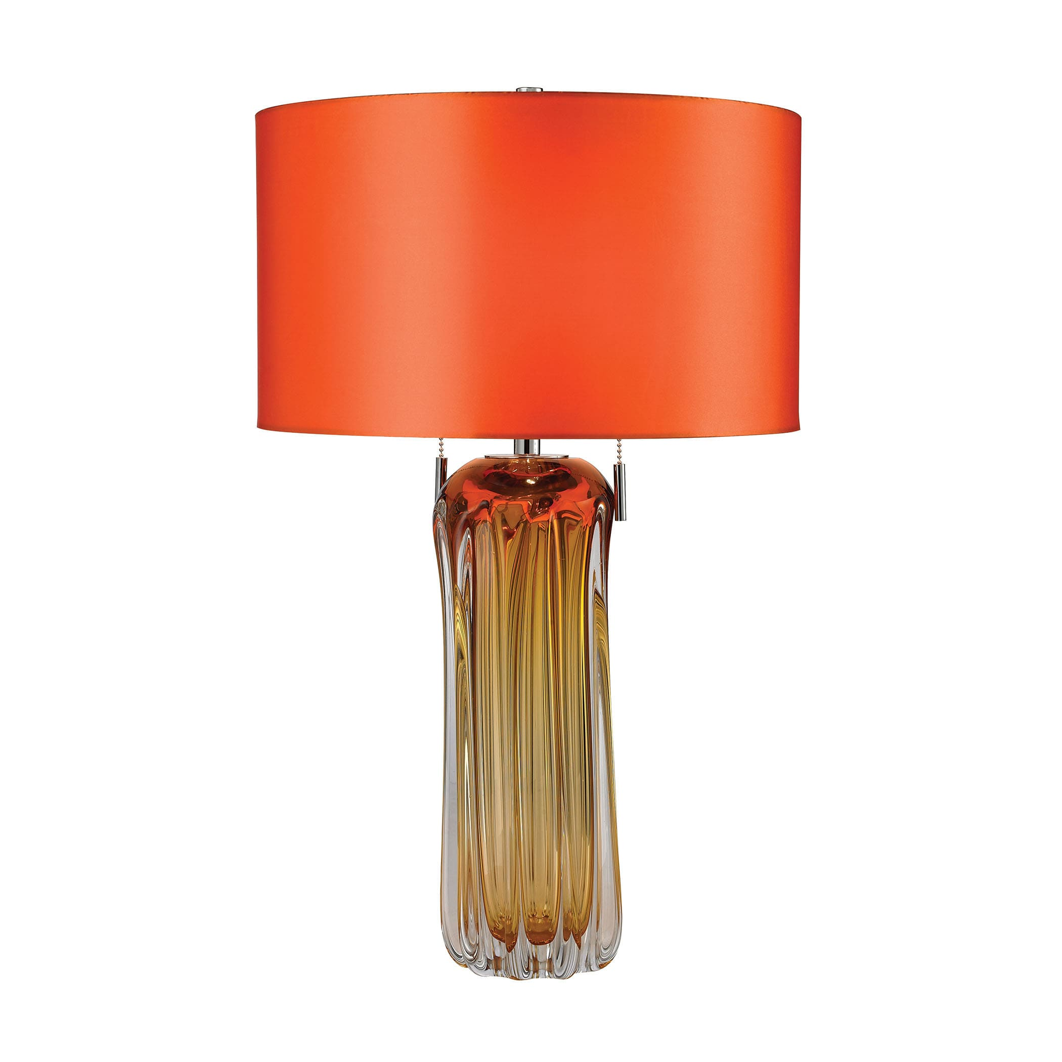 Dimond Ferrara Blown Glass Amber Table Lamp   Free Shipping Today    Overstock   17429971