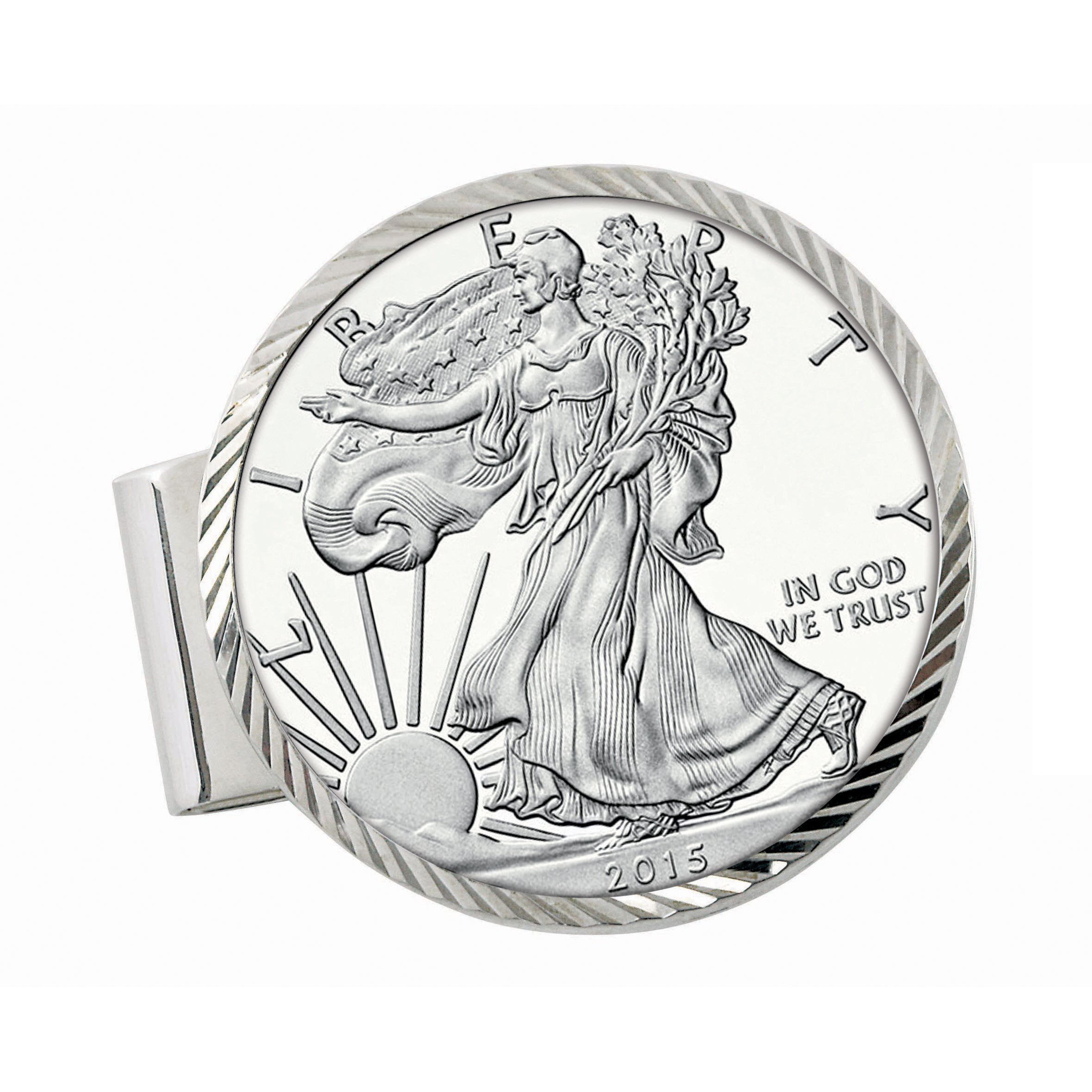 shop american coin treasures sterling silver proof american silver Euro Watches shop american coin treasures sterling silver proof american silver eagle dollar diamond cut money clip on sale free shipping today overstock