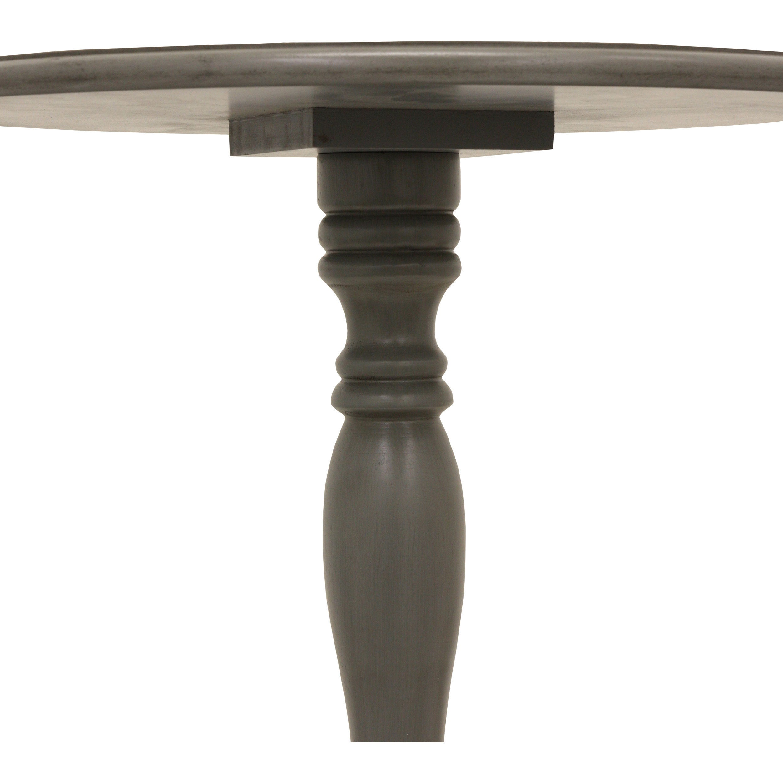 Shop Decor Therapy Simplify Pedestal Accent Table   On Sale   Free Shipping  On Orders Over $45   Overstock.com   10320103