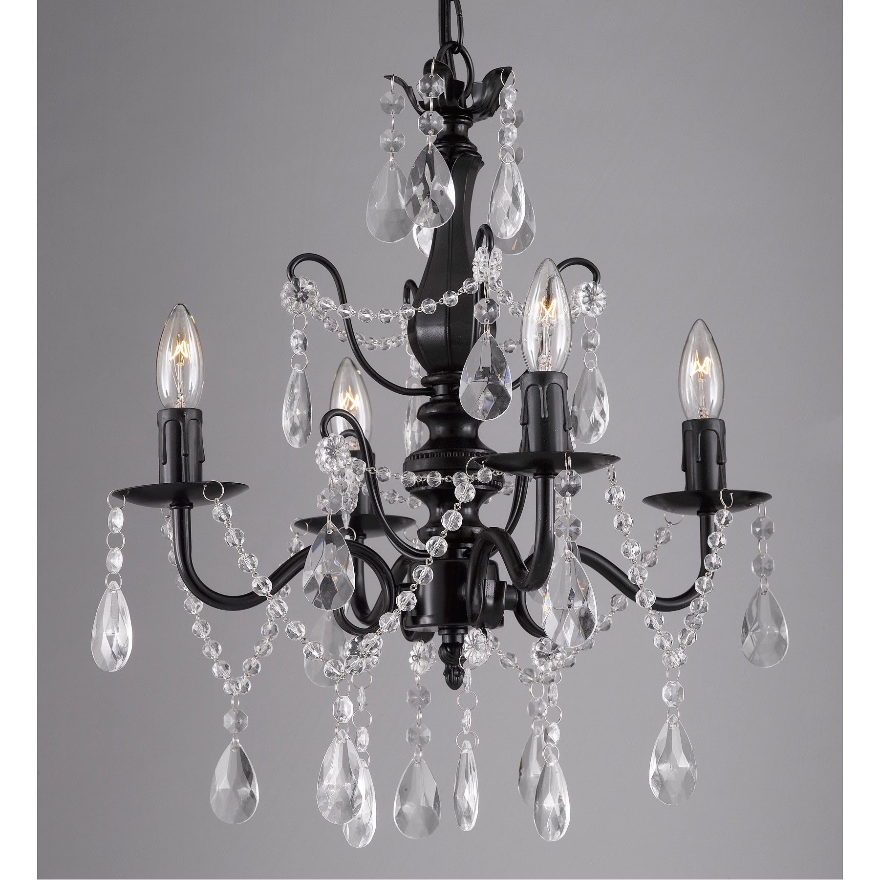 crystal index xiertekusa antique lights w pedant and copper light cone chandeliers chandelier iron all drop shape annabelle products glass