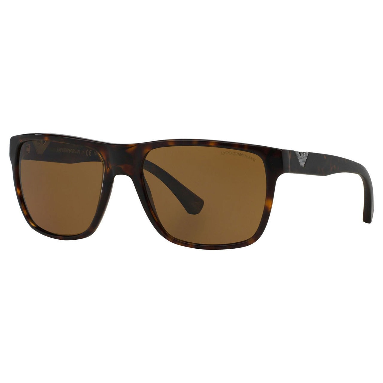 af2fa3f7e4d Shop Emporio Armani Men s EA4035 Plastic Square Polarized Sunglasses -  Tortoise - Free Shipping Today - Overstock - 10324514