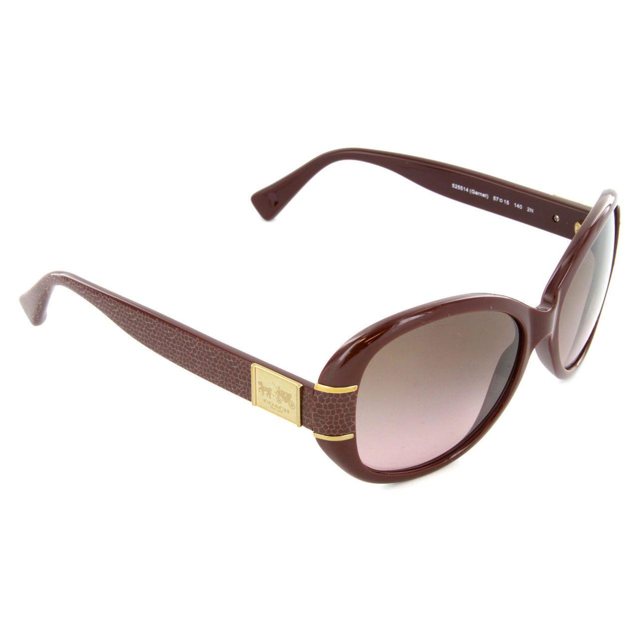 c2a94a1f4019 Shop Coach Women's HC8115 L086 Blaine 525514 Plastic Oval Sunglasses - Free  Shipping Today - Overstock.com - 10324830