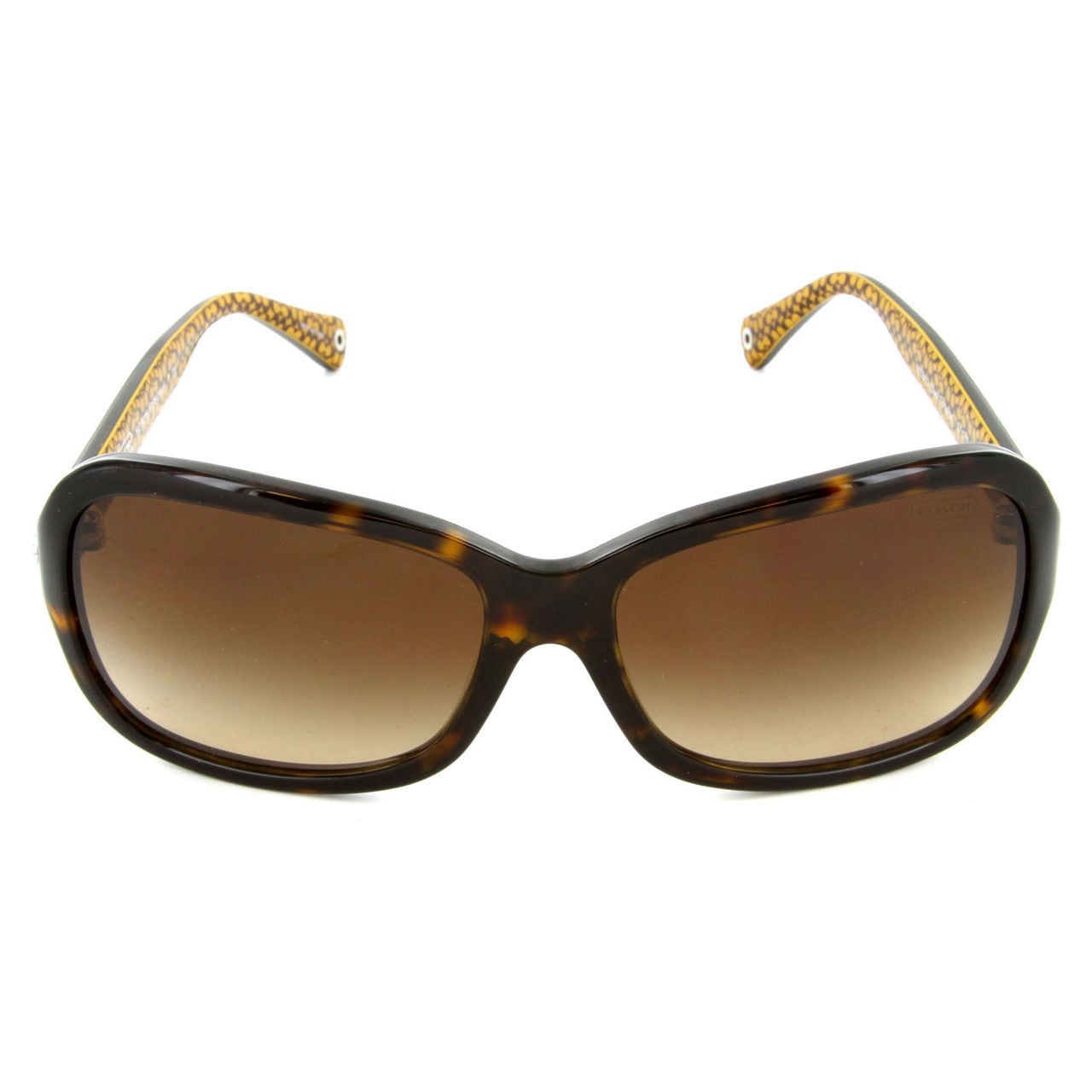 8572948658de Shop Coach Women's HC8016 L008 Ciara 503313 Plastic Rectangle Sunglasses -  Tortoise - Free Shipping Today - Overstock - 10324939