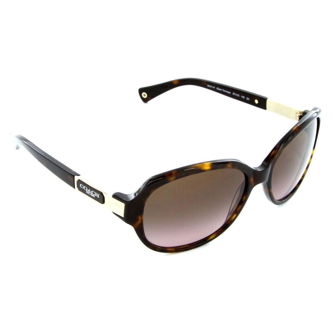 e25f1ef6df3 Shop Coach Women s HC8039 L039 Annette 500114 Sunglasses - Tortoise - Free  Shipping Today - Overstock.com - 10324944
