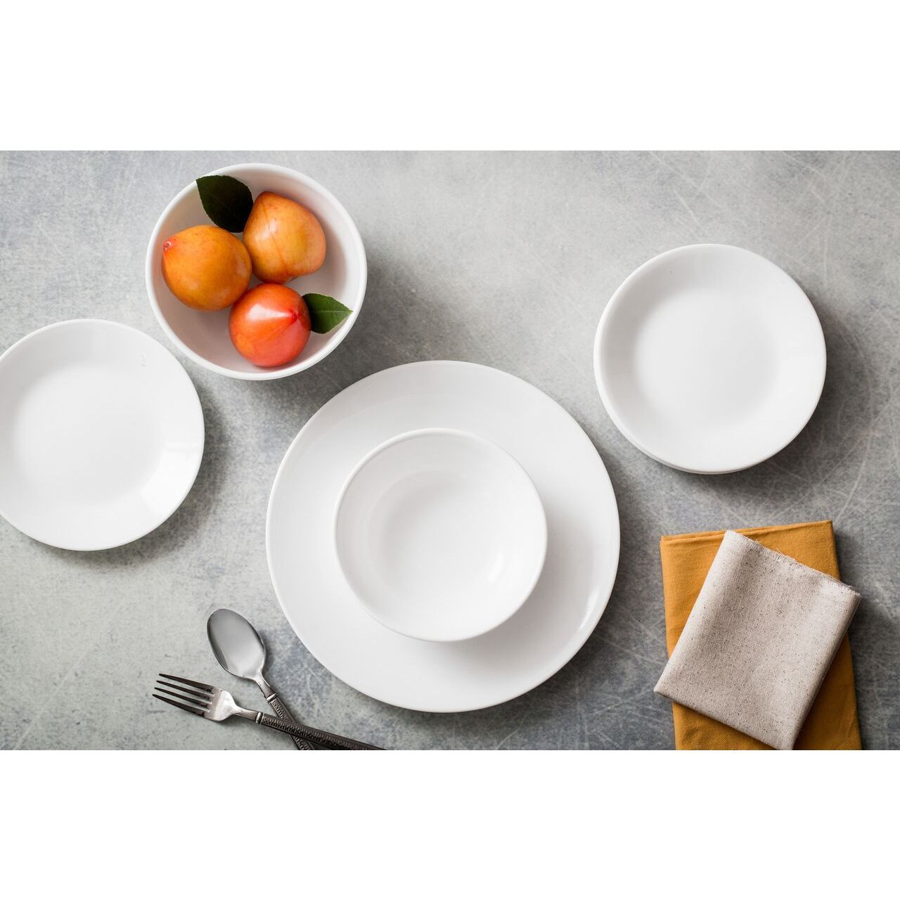 Corelle Livingware 38 piece Set Service for 12 Winter Frost White - Free Shipping Today - Overstock - 17436030  sc 1 st  Overstock.com & Corelle Livingware 38 piece Set Service for 12 Winter Frost White ...