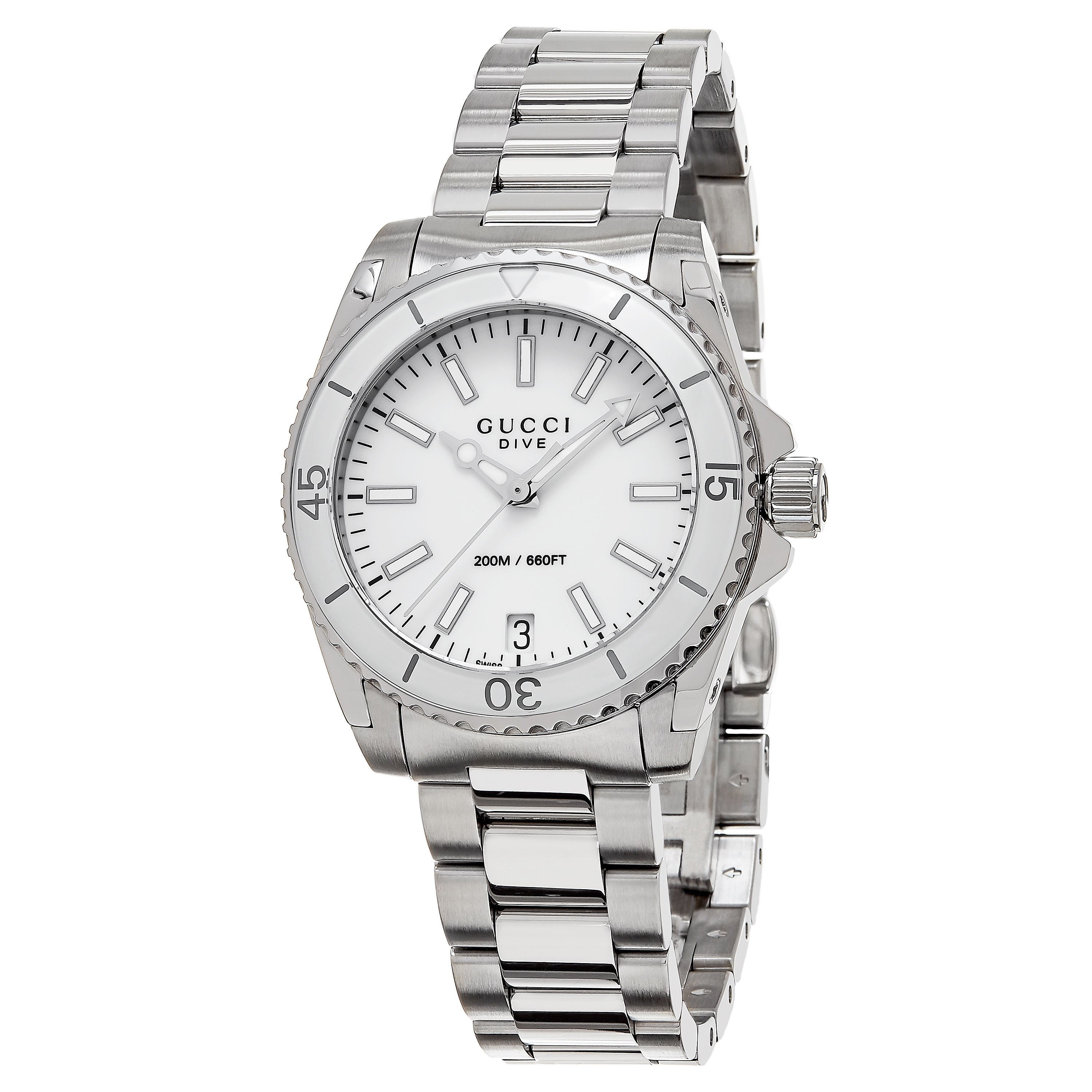0659280bf5f Shop gucci women ya dive stainless steel watch free jpg 3000x3000 Dive gucci  watches