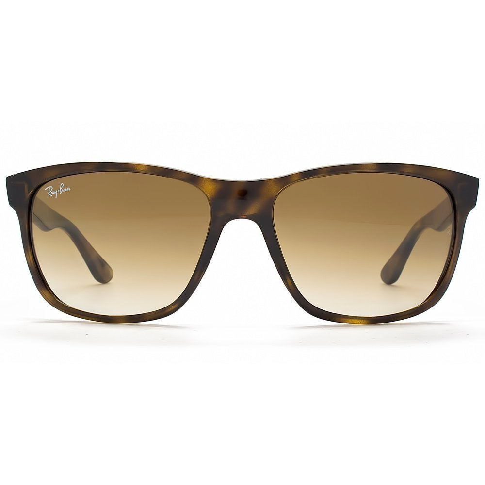 5c32b04290 ... sale shop ray ban rb4181 tortoise frame graduated crystal brown lens  sunglasses free shipping today overstock