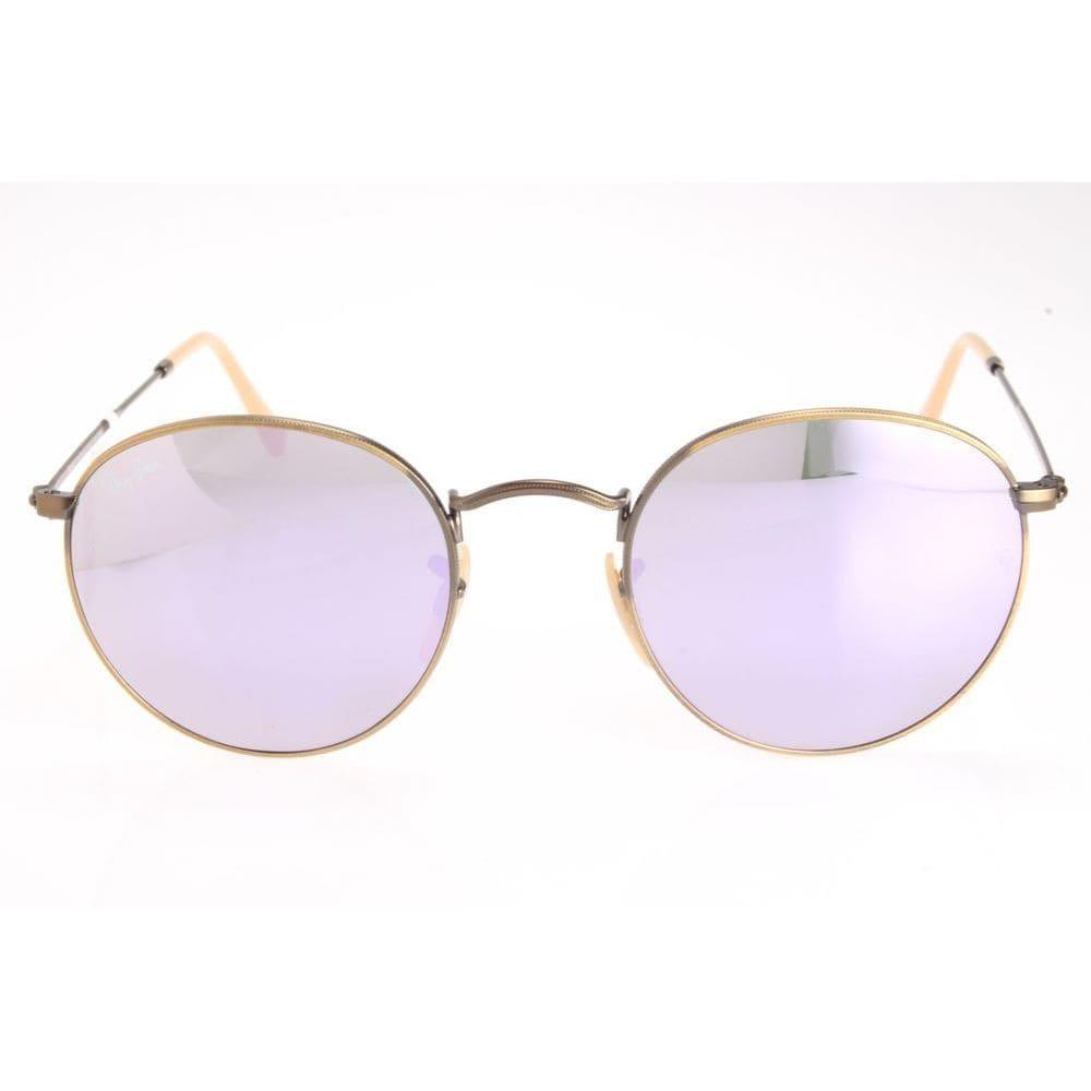 90c0deda32 ... gradient 112fe 22b71  australia shop ray ban rb3447 round flash lilac  mirror lenses sunglasses free shipping today overstock 10332831