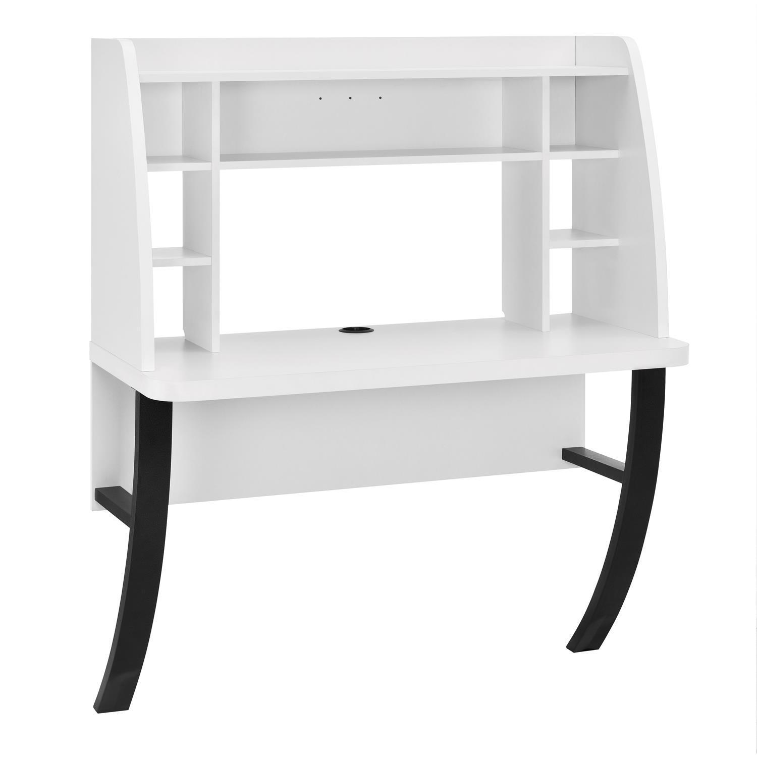 Altra Eden White Wall-mounted Desk - Free Shipping Today - Overstock.com -  17443351