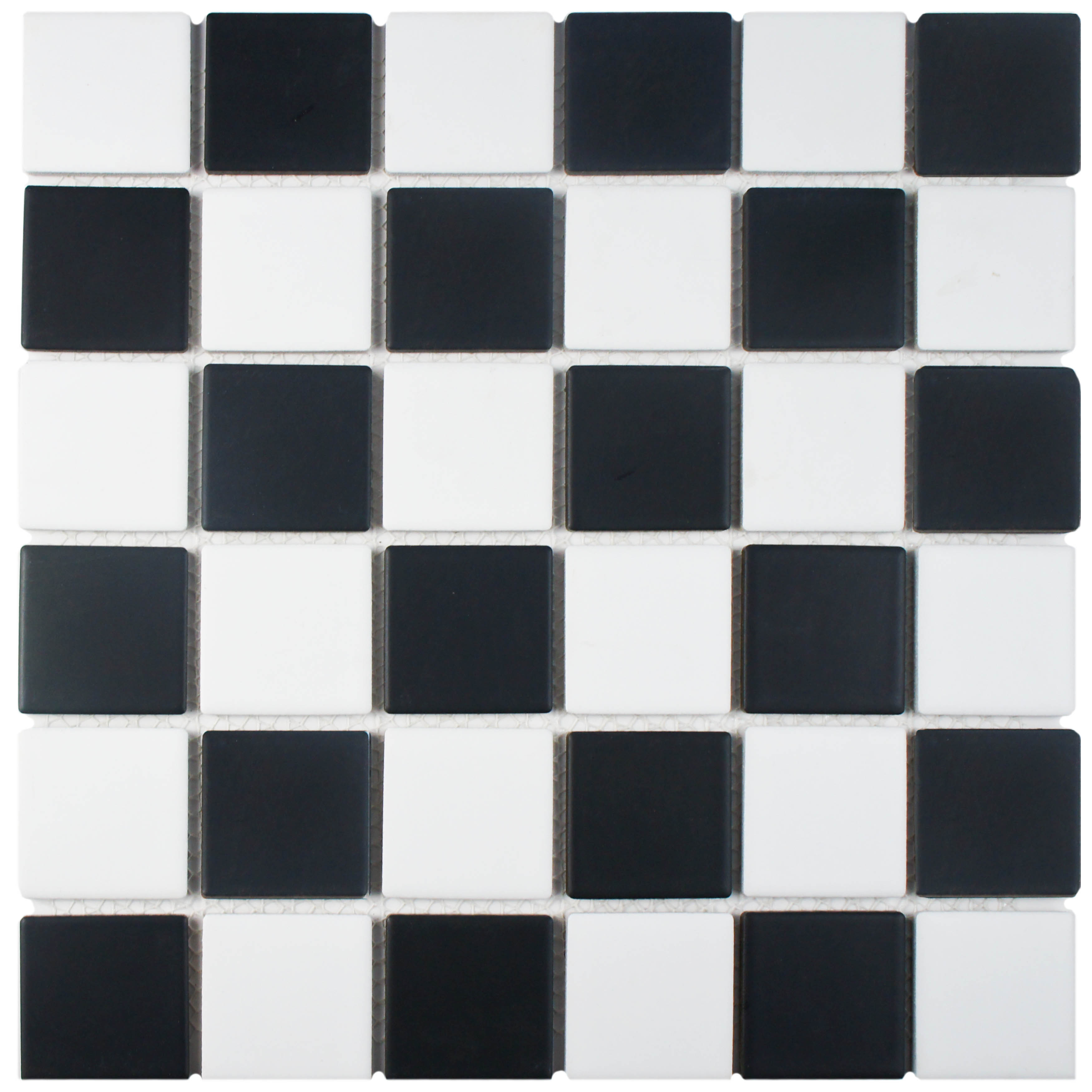 Somertile 125x125 knight matte black white checkerboard somertile 125x125 knight matte black white checkerboard porcelain floor and wall tile case of 10 free shipping today overstock 17443534 dailygadgetfo Choice Image