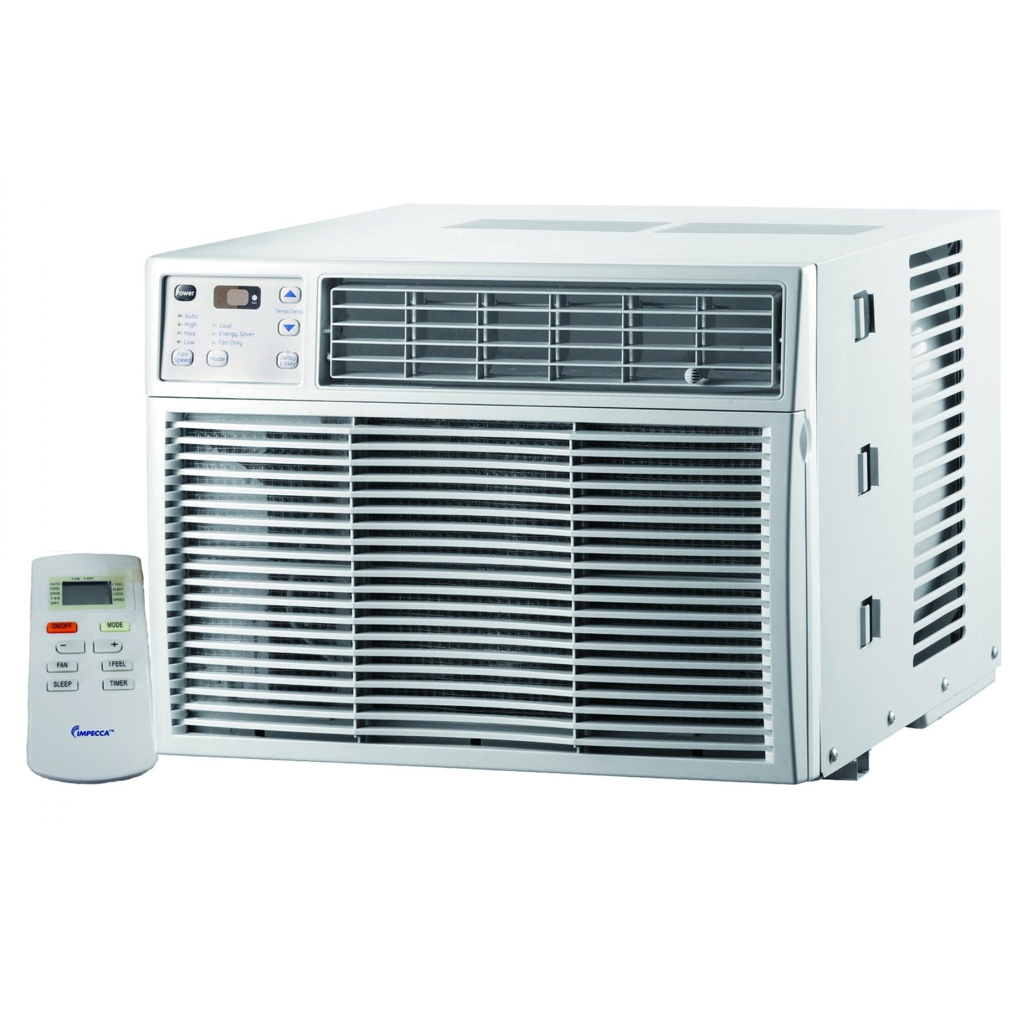 Impecca IWA-06CP 6,100 BTU Electronic Mini Window Air Conditioner - White