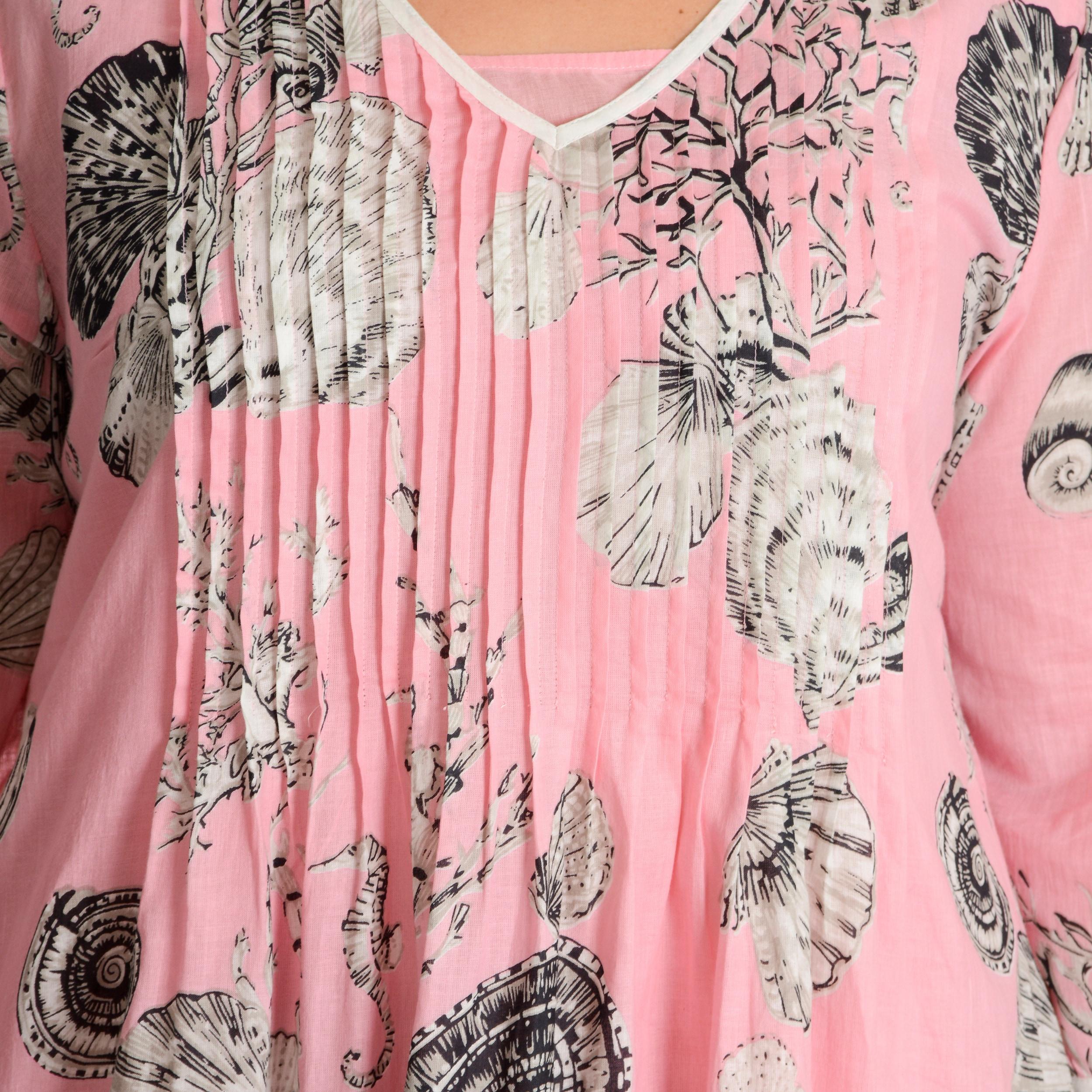 La Cera Womens Plus Size Printed Tunic Dress Free Shipping Today