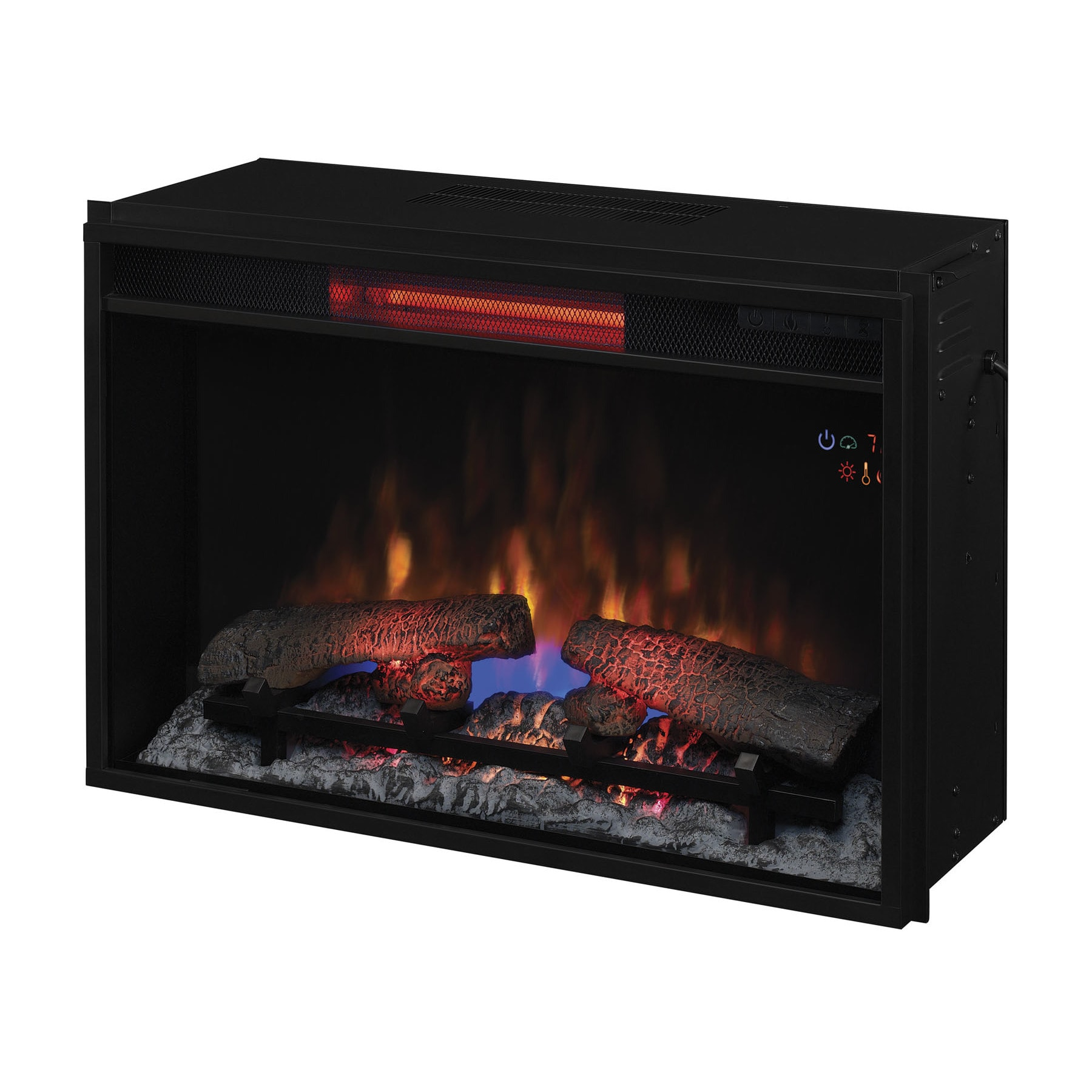 p insert directvent electric fireplaces fireplace infrared full fireplacestovesystems