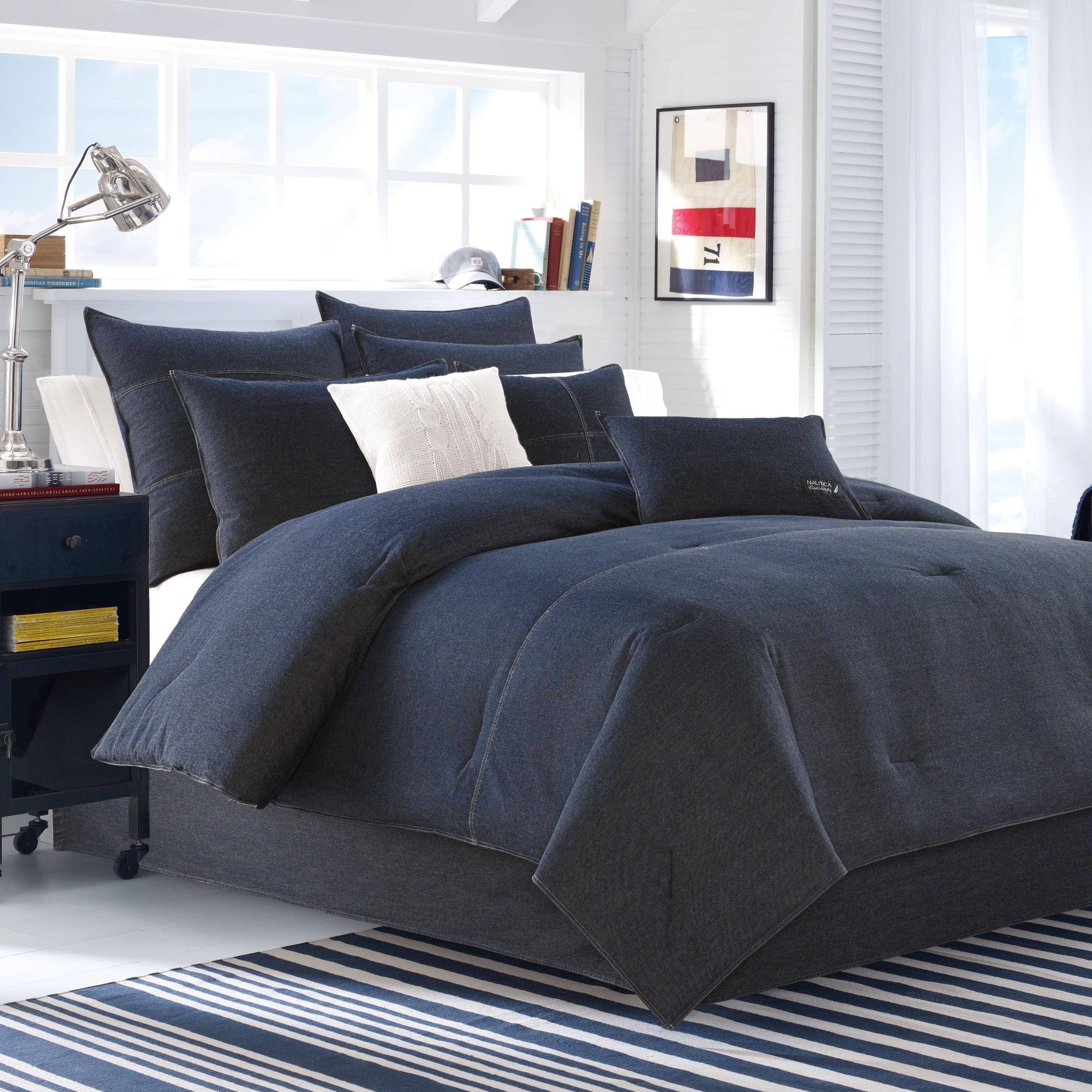 Nautica Seaward Denim 3-piece Comforter Set - Free Shipping Today -  Overstock.com - 17450649