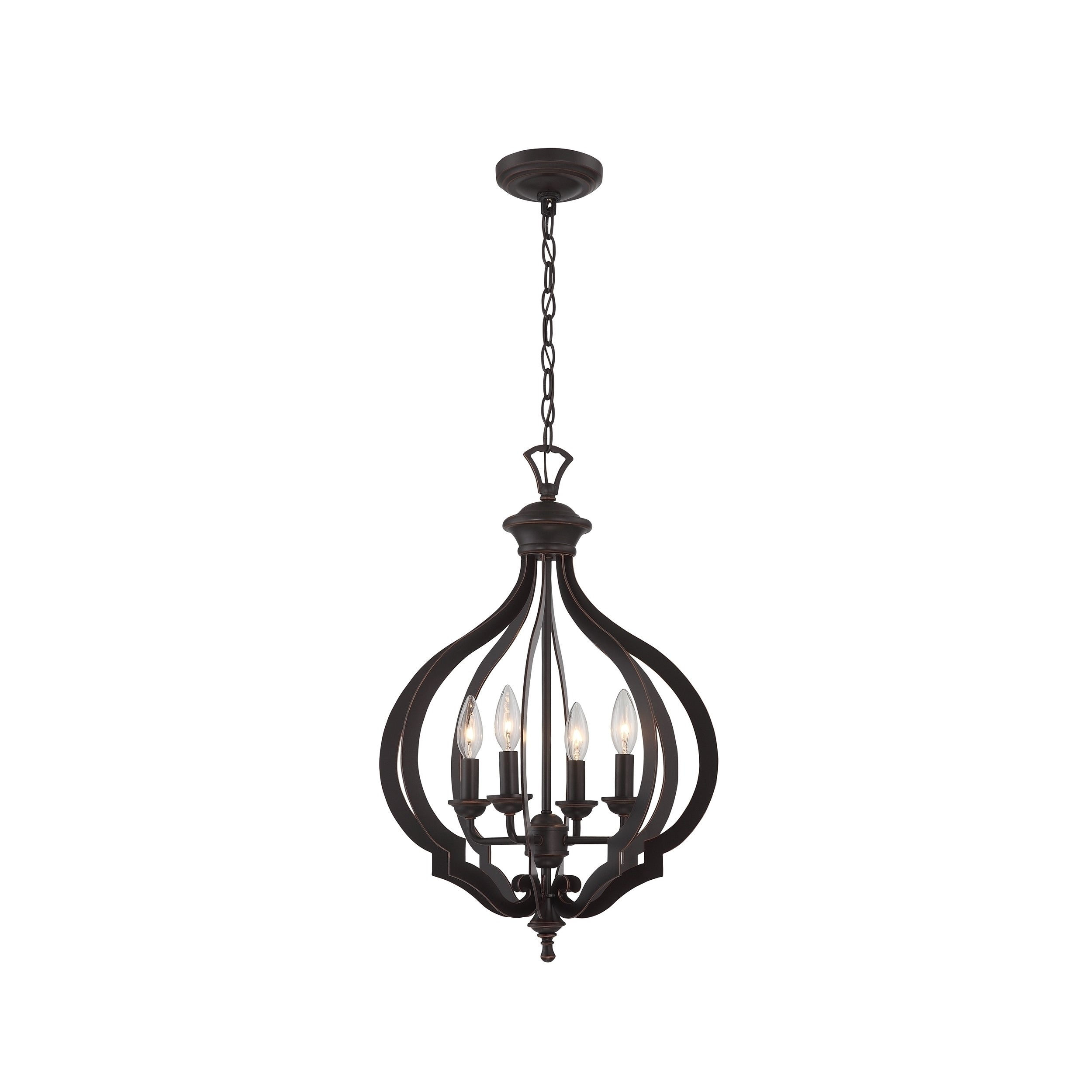 Lite Source Orlena 4 Light Pendant Free Today Com 10341804