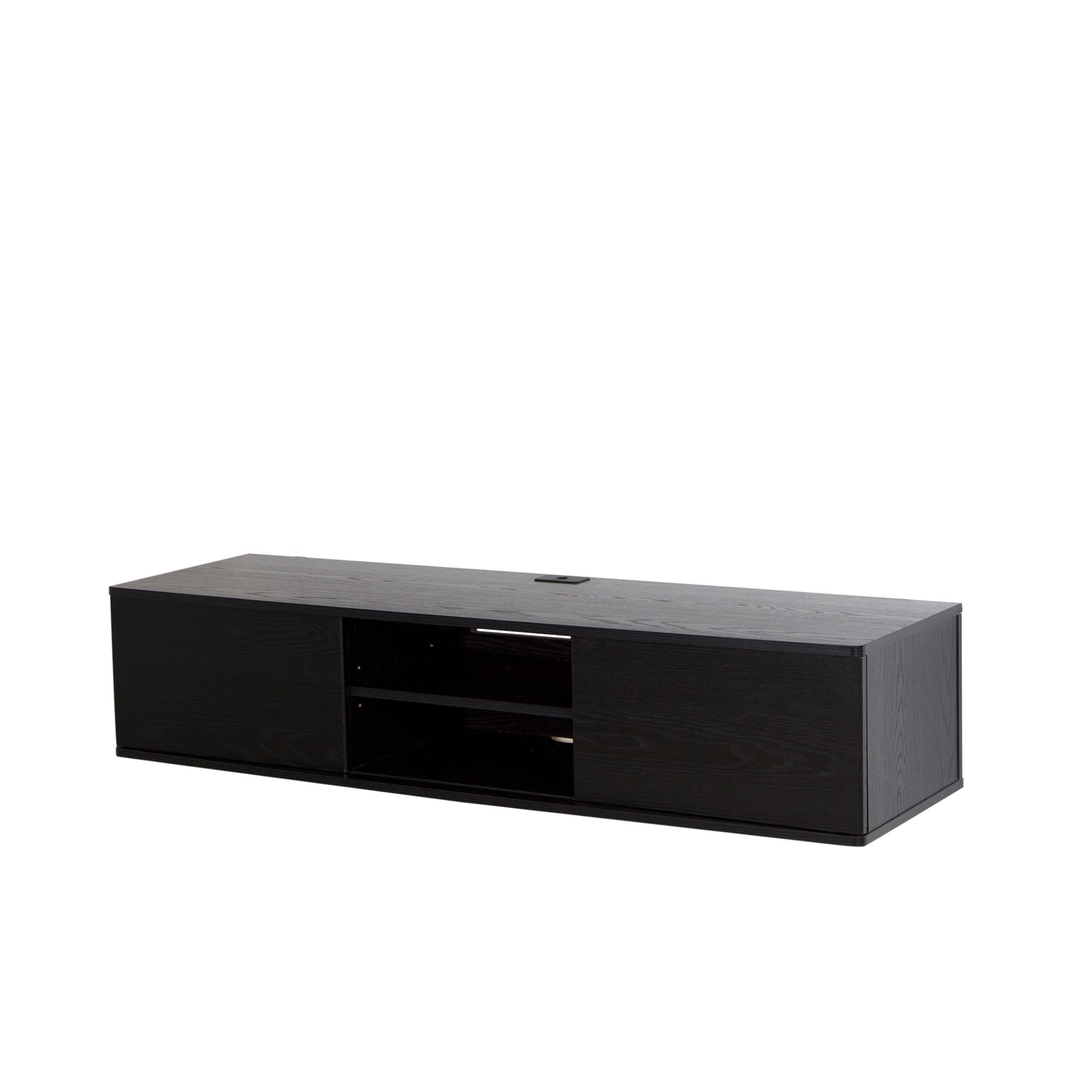 04984db6de0fc8 Shop South Shore Agora 56-inch Wall Mounted Media Console - On Sale - Free  Shipping Today - Overstock - 10344005