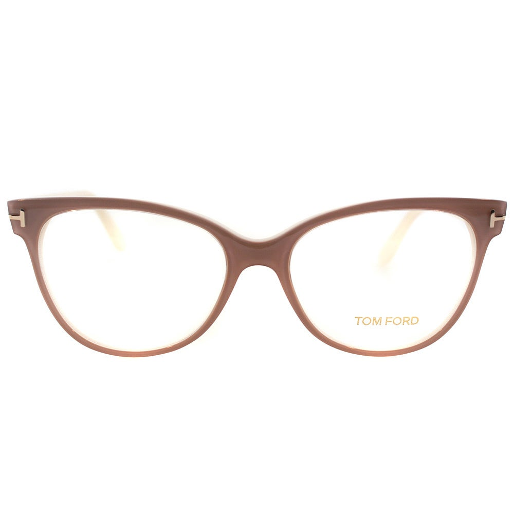 20f03c518c Shop Tom Ford Womens FT 5291 074 Vintage Pink Plastic Cat Eye Eyeglasses -  Ships To Canada - Overstock - 10352763