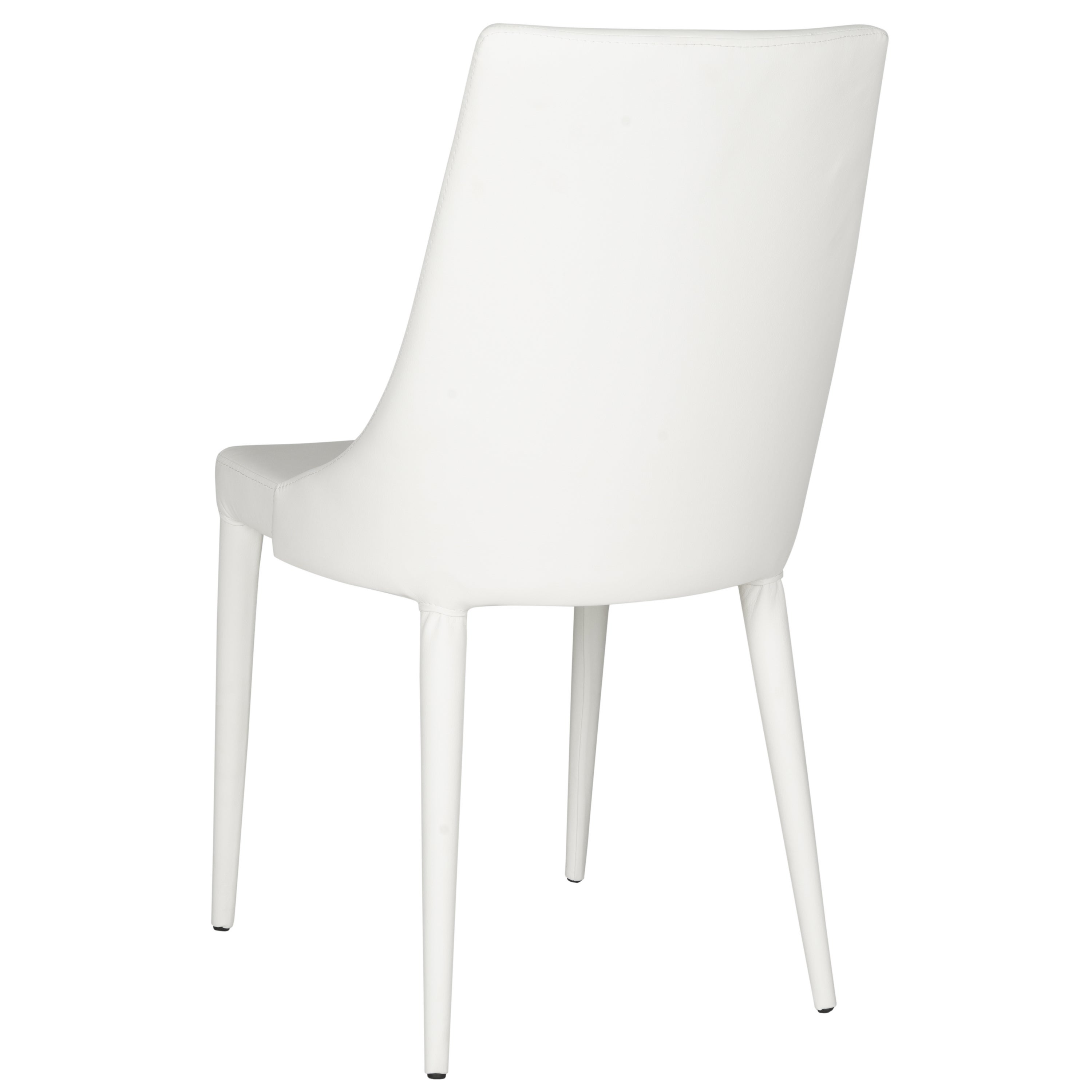 Shop Safavieh Mid Century Dining Summerset Modern White Dining Chairs (Set  Of 2)   On Sale   Free Shipping Today   Overstock.com   10353828