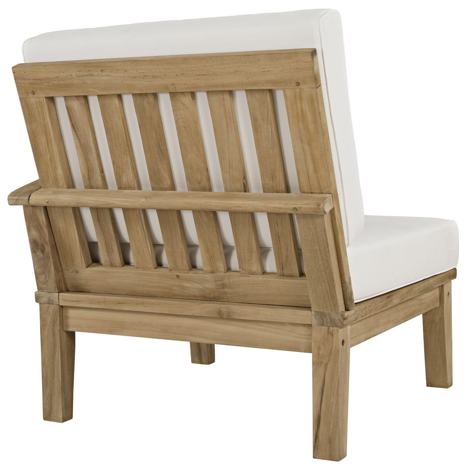 Shop Quay 4 Piece Outdoor Patio Teak Sofa Set   Free Shipping Today    Overstock.com   10354668