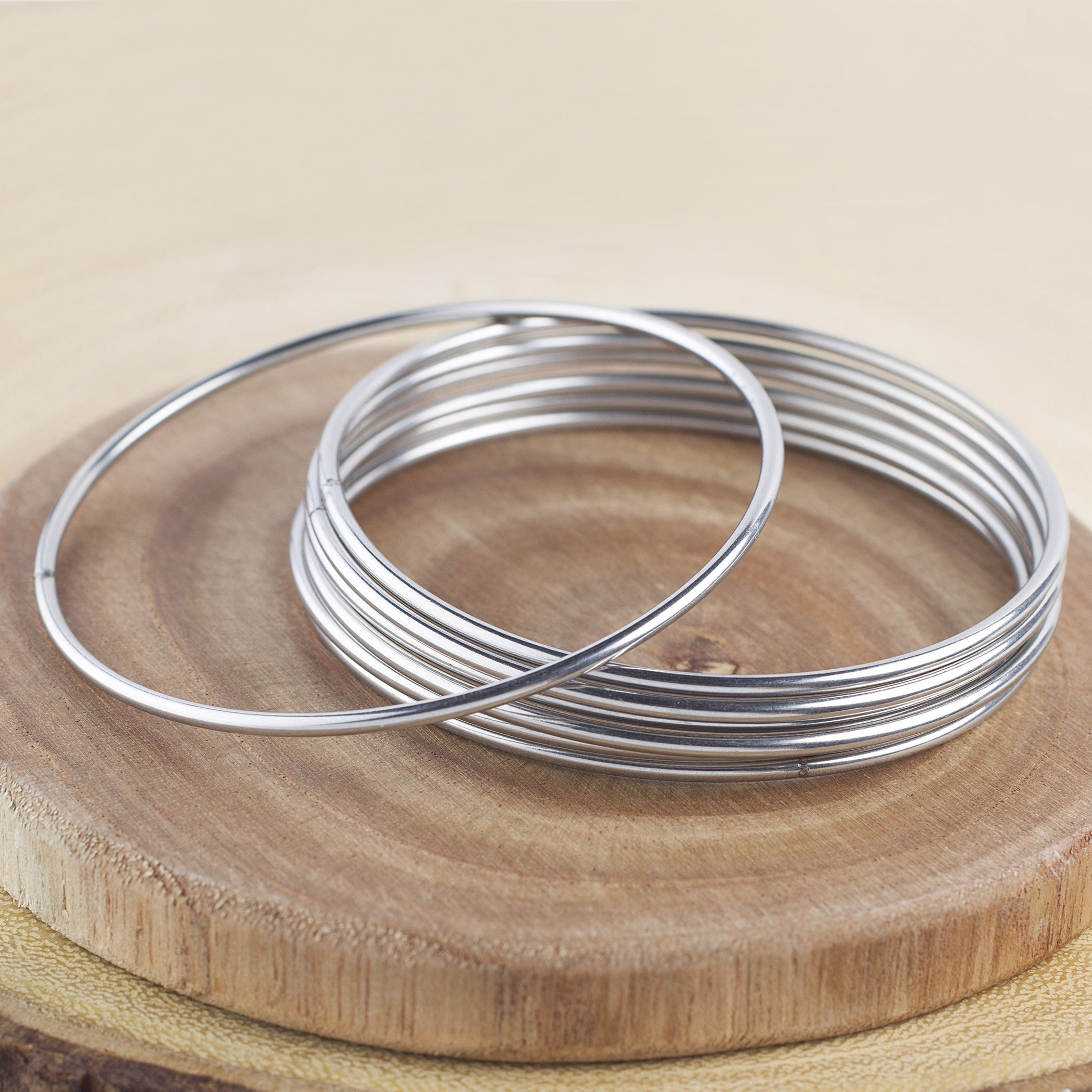 stackable stacked embrace stylefeed victoria the bracelets bangles trend
