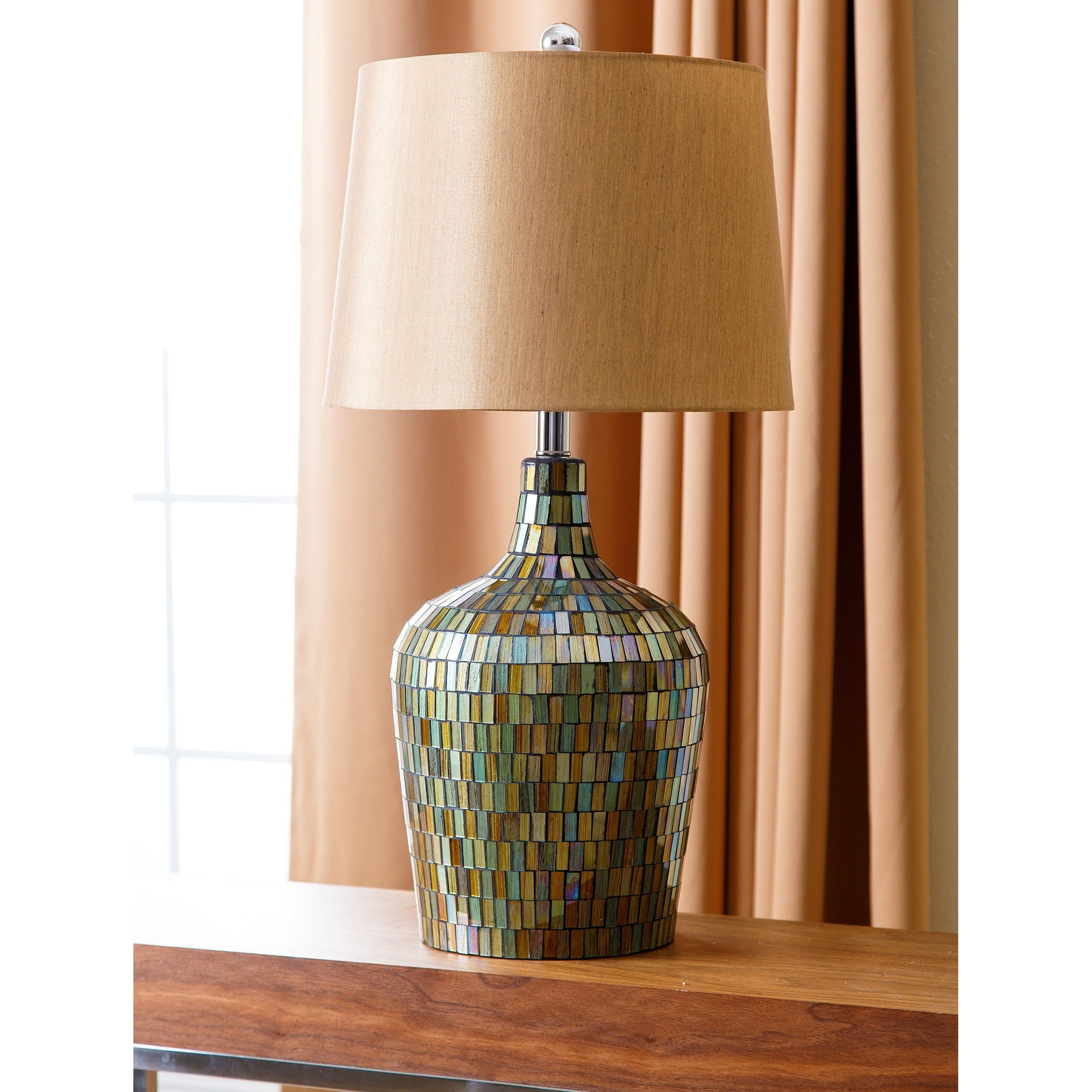 table pearl loading style beach mosaic of lamp lamps mother