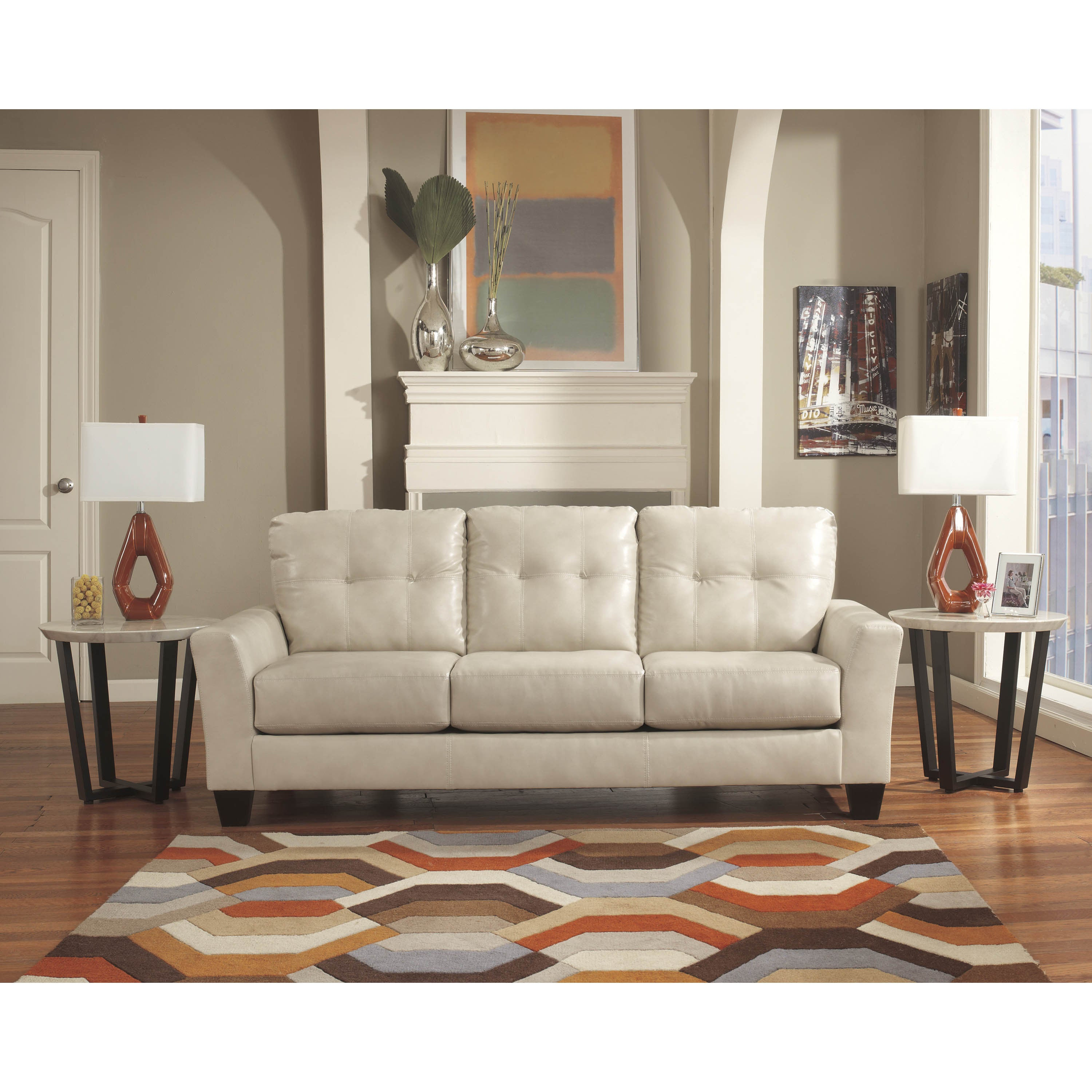 ashley piece sectional right with contemporary sand cupboard chaise furniture benchcraft