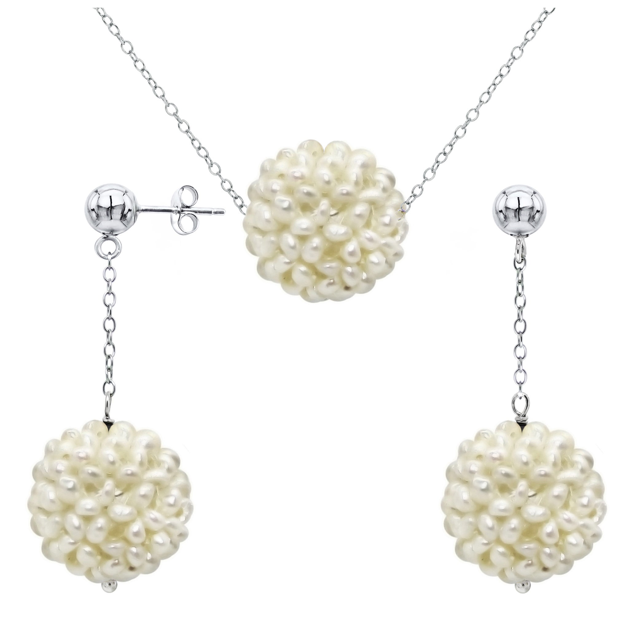 stud l real lamevallar chanel pearl earrings dangling