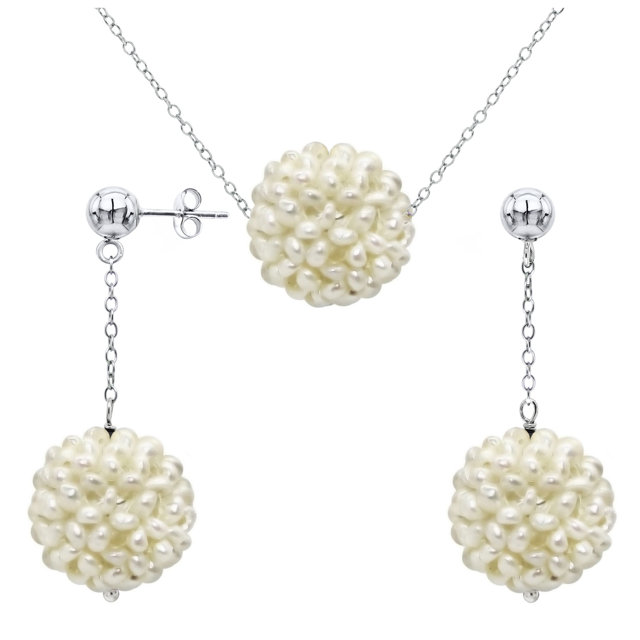 brigid triple operandi earrings blanco real moda by yellow large white gold pearl loading