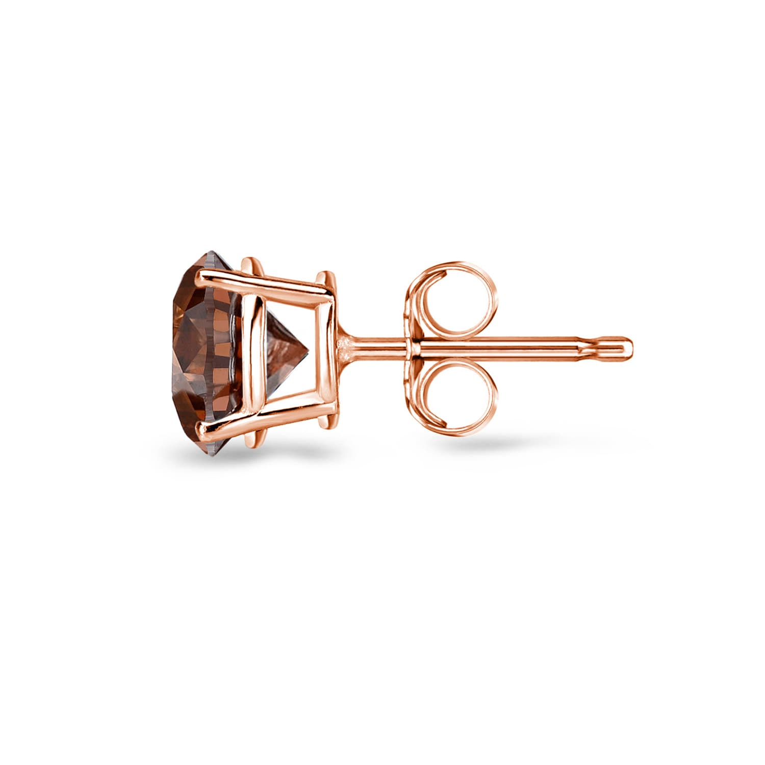 diamonds strand fan and stud insta brown stone s diamond products