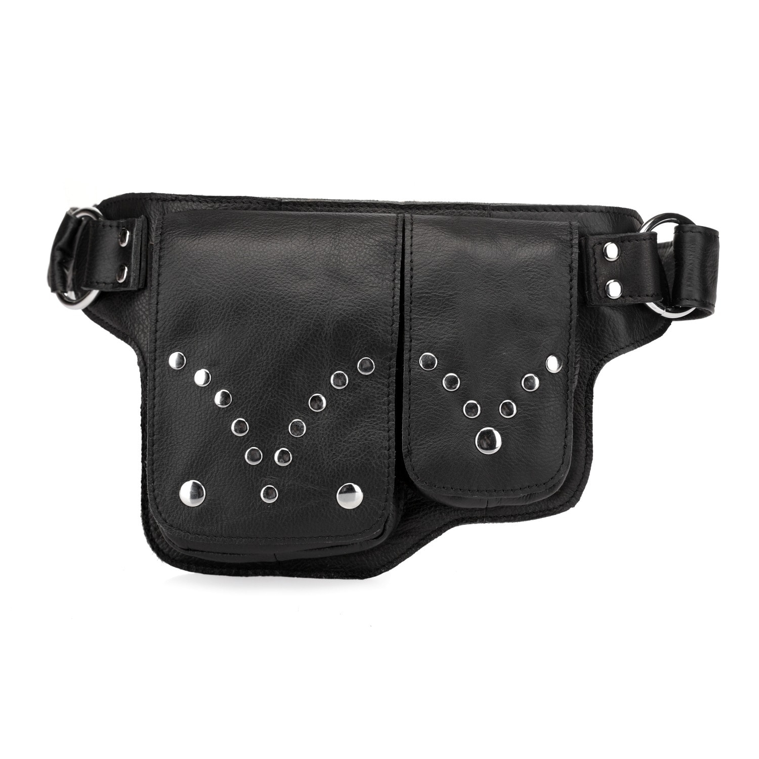 0c6954fb0f80 Shop Vicenzo Leather Adonis Small Leather Waist Bag Waist Pack - Free  Shipping Today - Overstock - 10363580