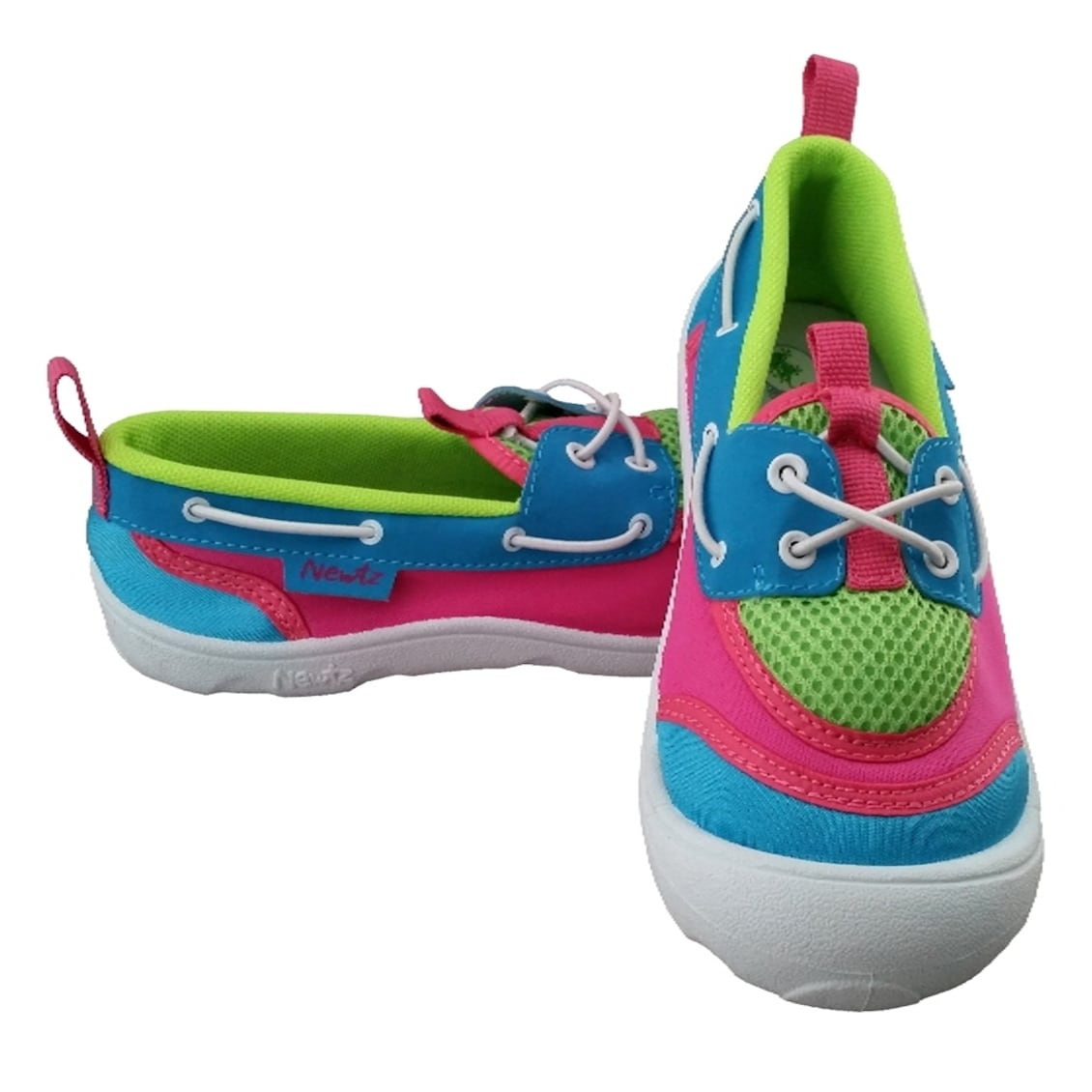 42eb37025c74 Shop Girls  Aqua   Lime  Pink Sider Water Shoes - Free Shipping On Orders  Over  45 - Overstock - 10363706